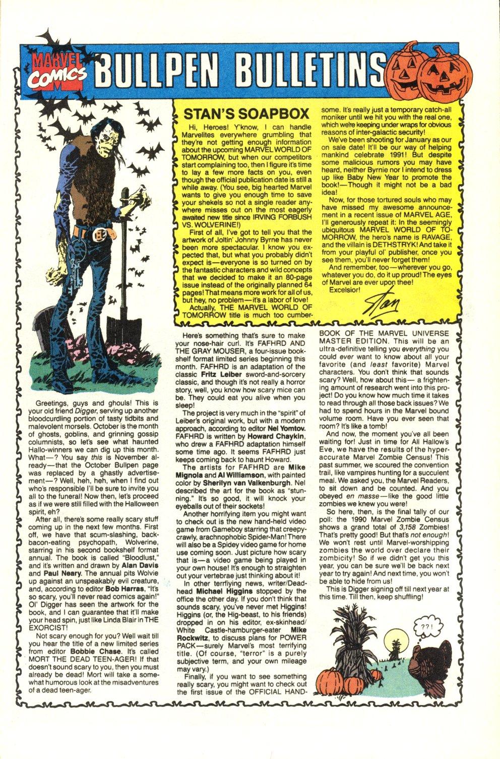 Read online Alpha Flight (1983) comic -  Issue #92 - 23