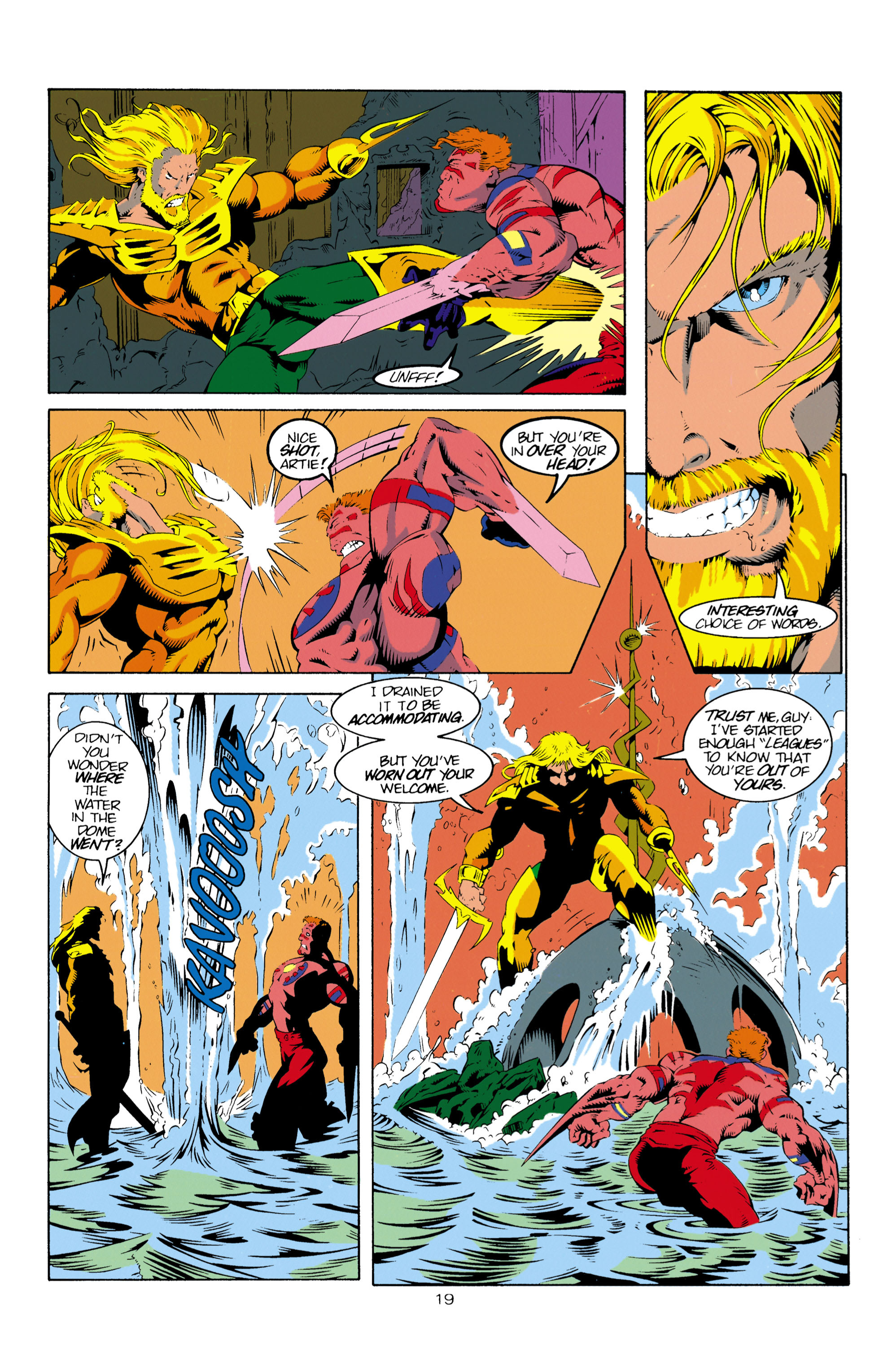Read online Aquaman (1994) comic -  Issue #16 - 20