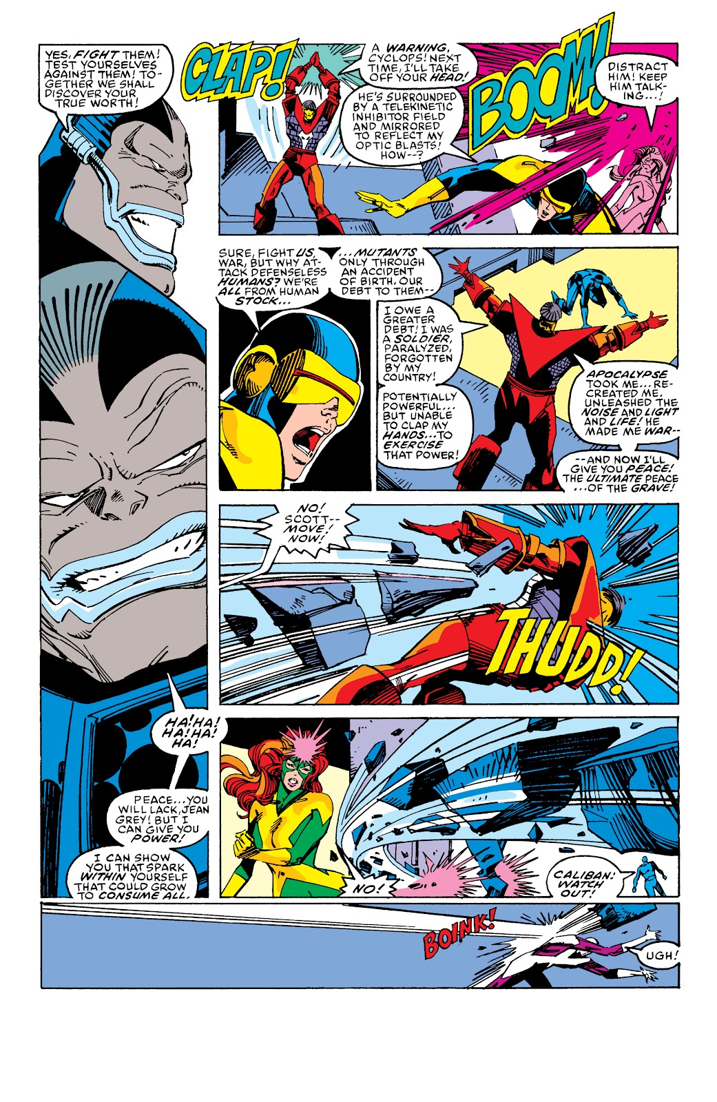 Read online X-Men Milestones: Fall of the Mutants comic -  Issue # TPB (Part 2) - 90