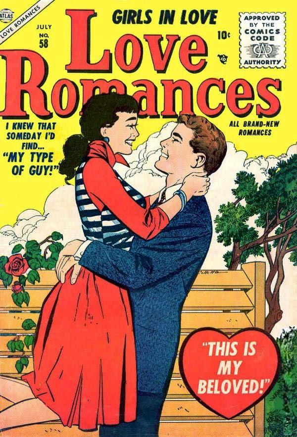 Love Romances (1949) issue 58 - Page 1