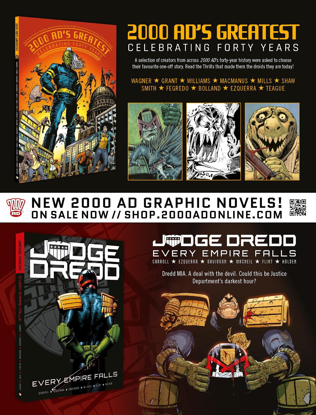 Judge Dredd Megazine (Vol. 5) Issue #381 #180 - English 4