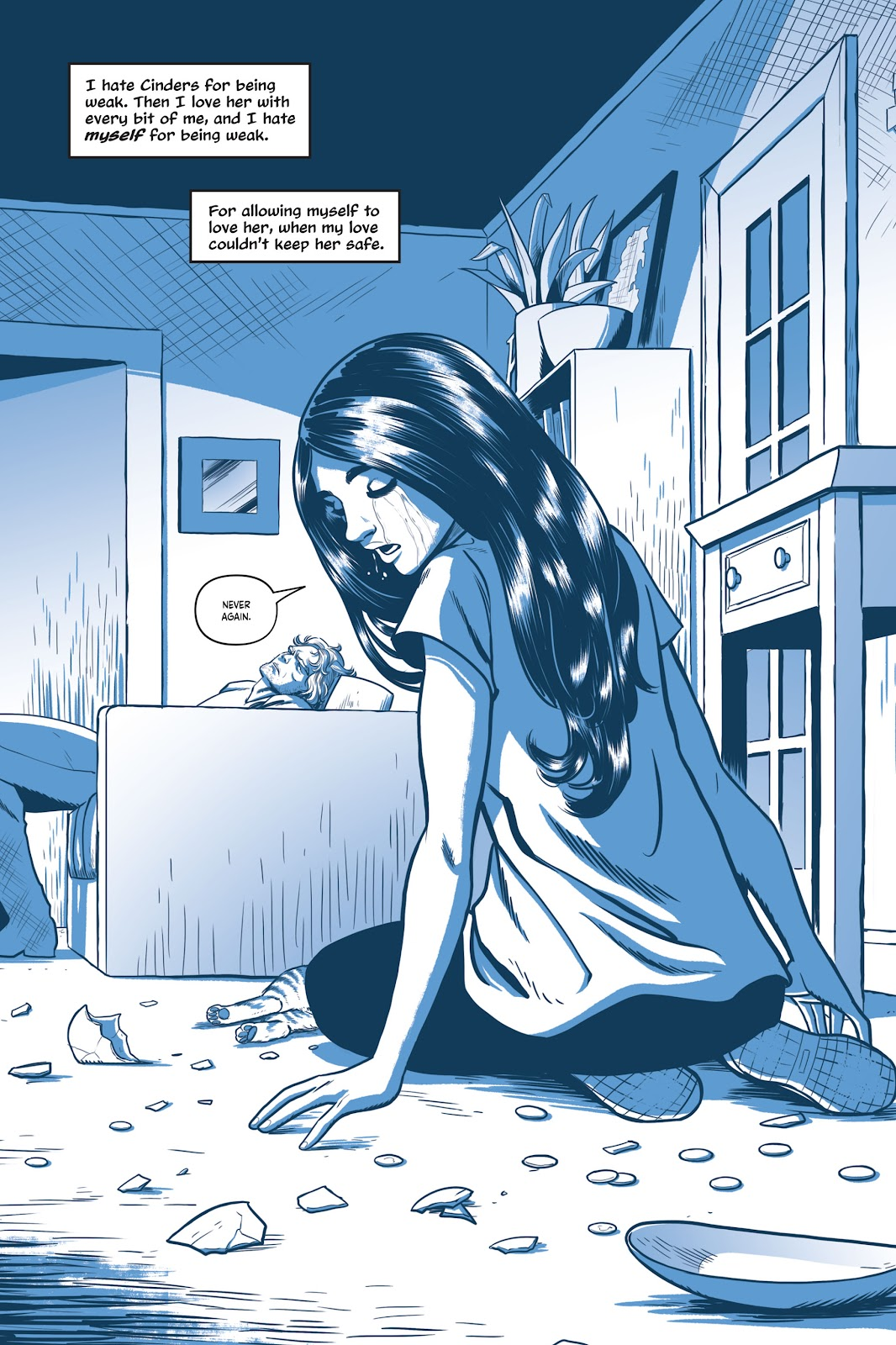 Read online Under the Moon: A Catwoman Tale comic -  Issue # TPB (Part 1) - 63