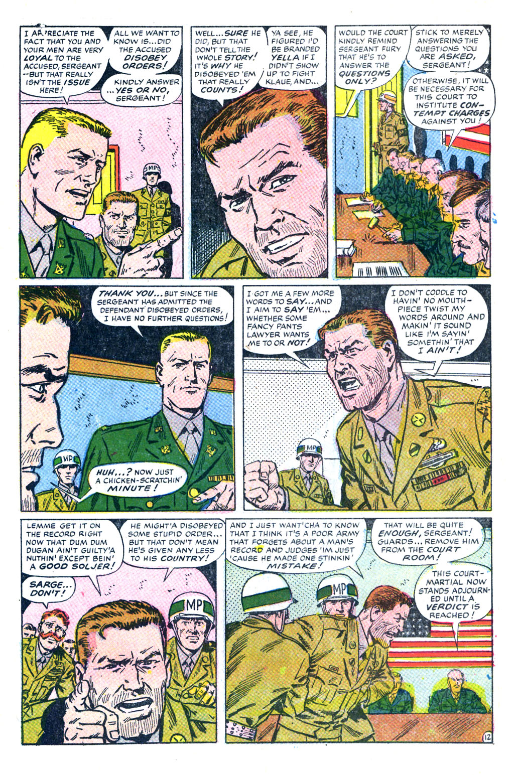 Read online Sgt. Fury comic -  Issue #60 - 18