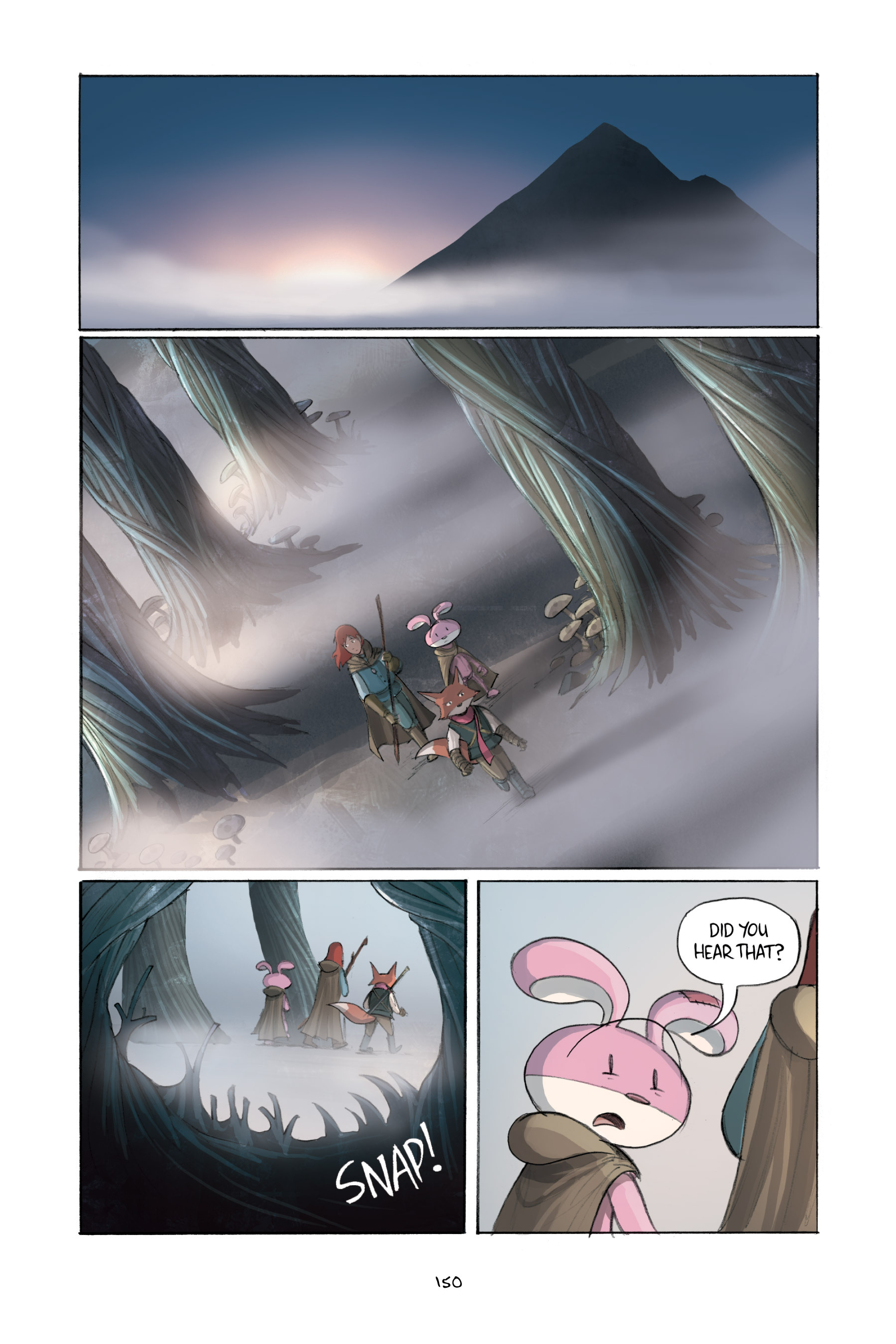 Read online Amulet comic -  Issue #2 - 149
