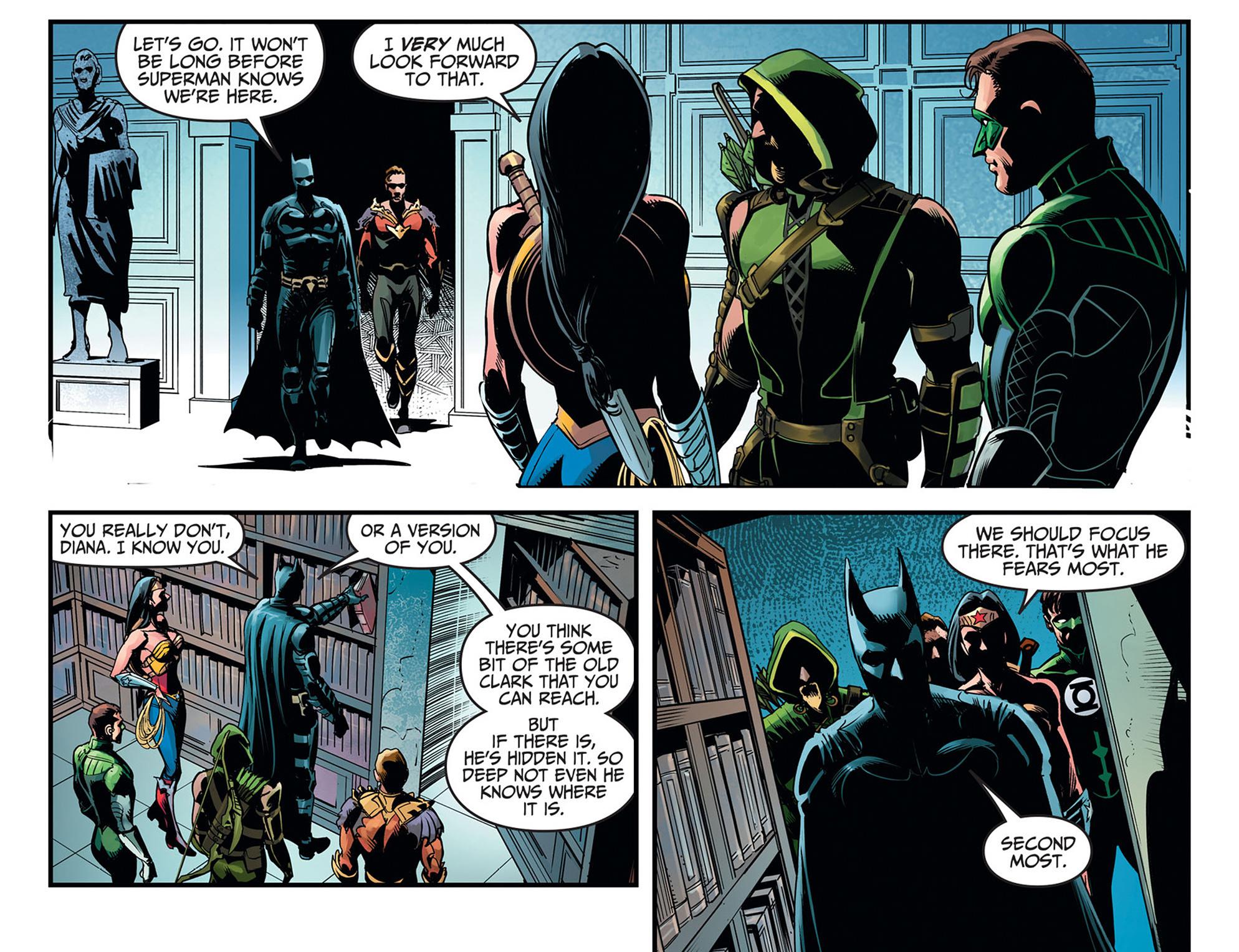 Read online Injustice: Ground Zero comic -  Issue #11 - 11