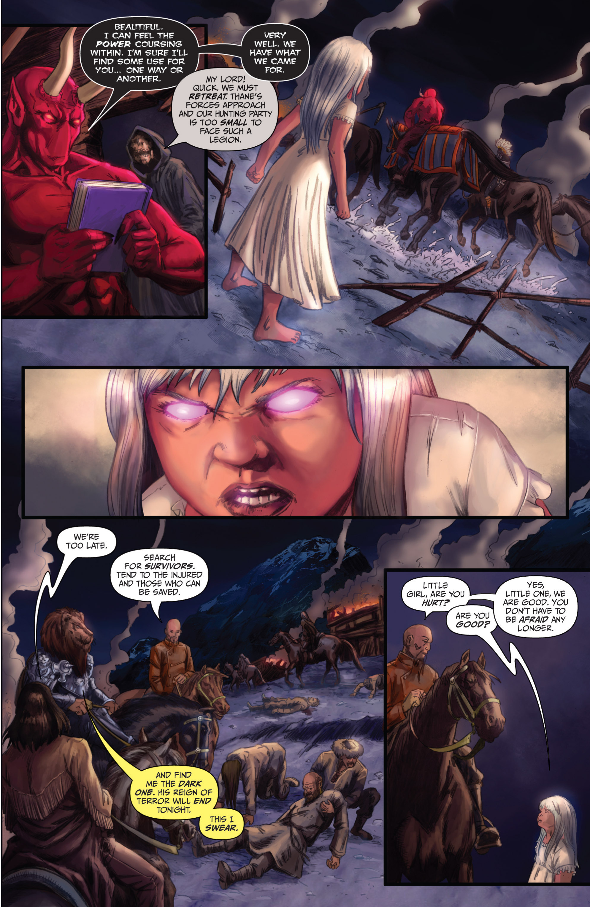 Read online Grimm Fairy Tales presents Grimm Universe comic -  Issue # TPB - 171
