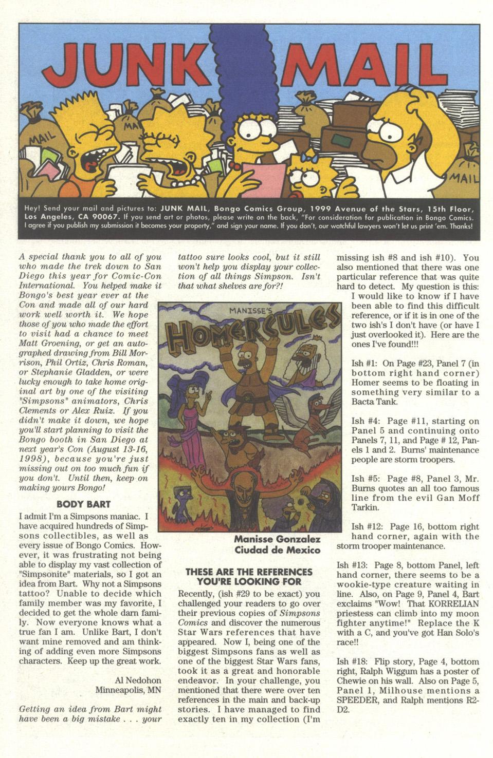 Read online Simpsons Comics comic -  Issue #32 - 24