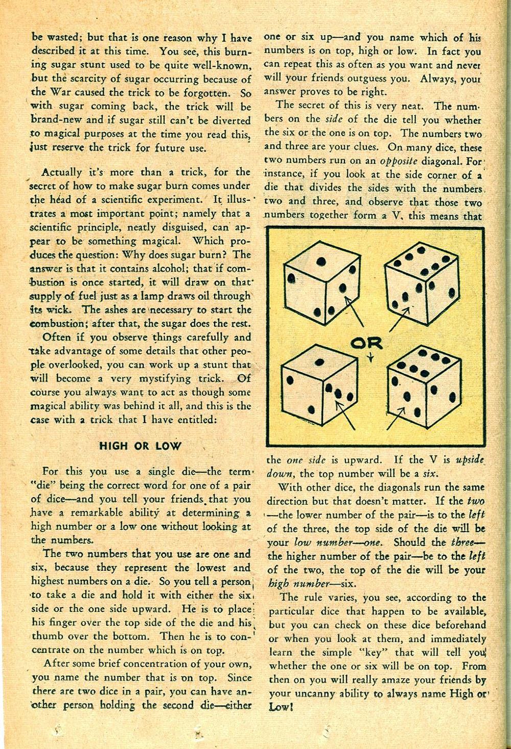 Read online Super-Magician Comics comic -  Issue #55 - 36