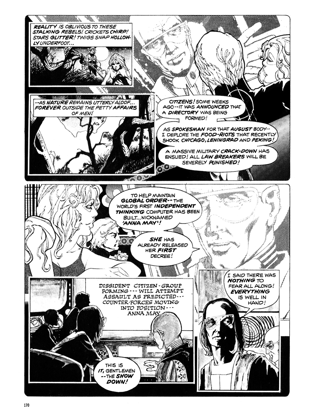 Read online Eerie Archives comic -  Issue # TPB 10 - 171