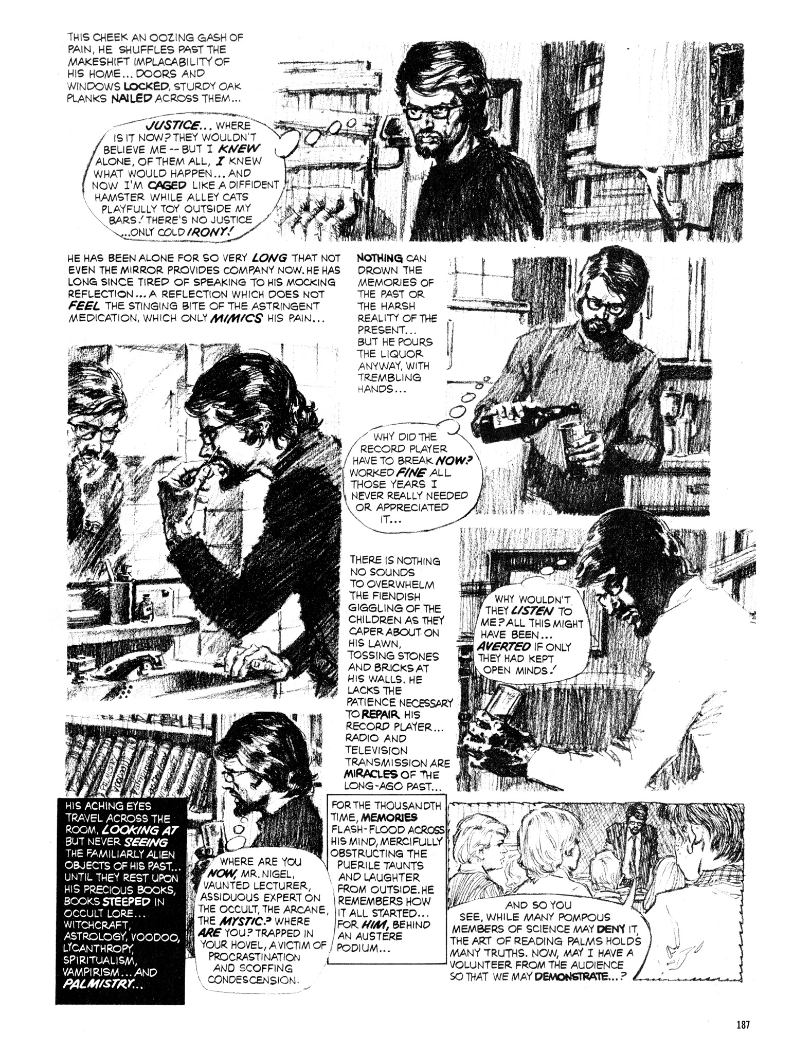 Read online Eerie Archives comic -  Issue # TPB 16 - 188