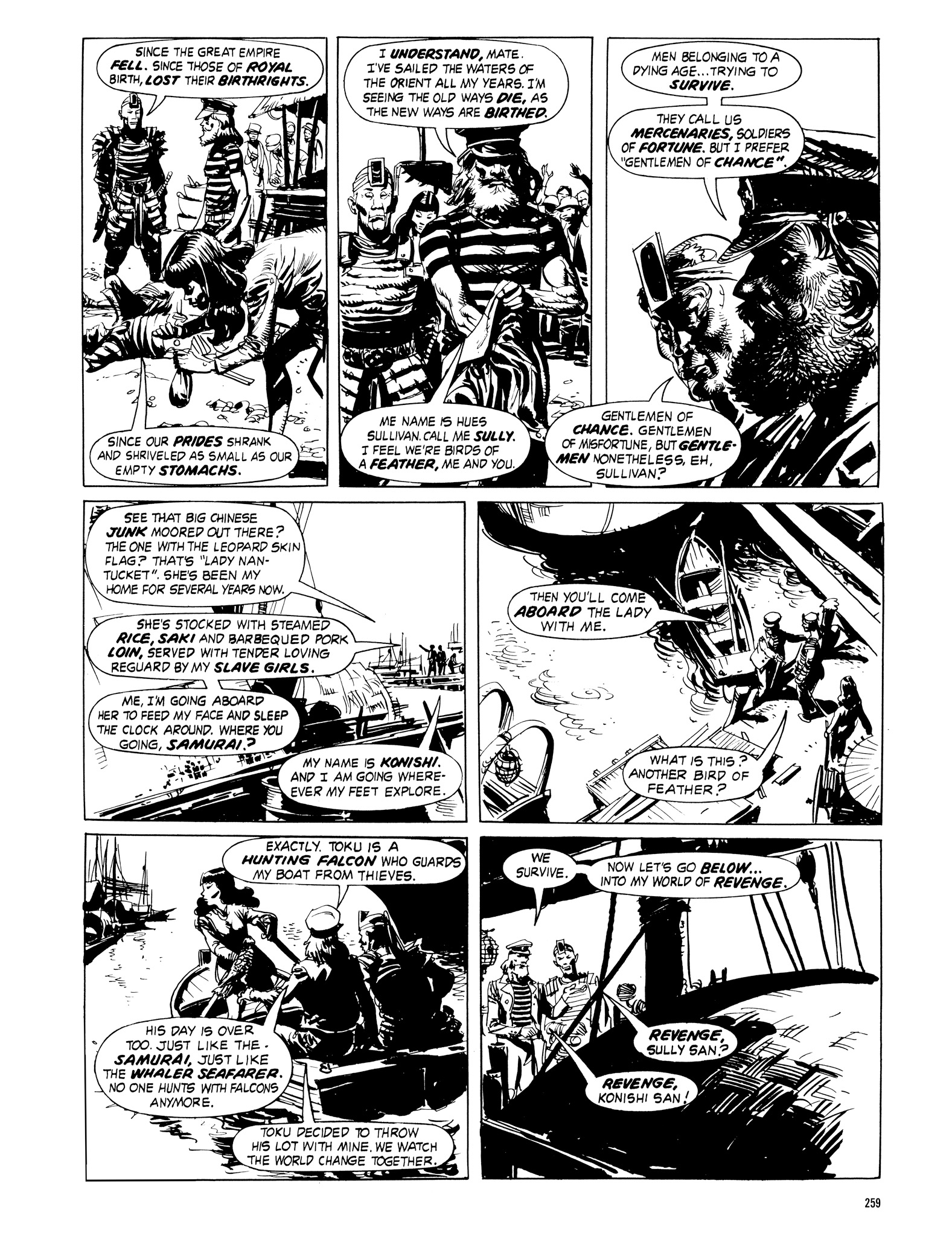 Read online Eerie Archives comic -  Issue # TPB 16 - 260