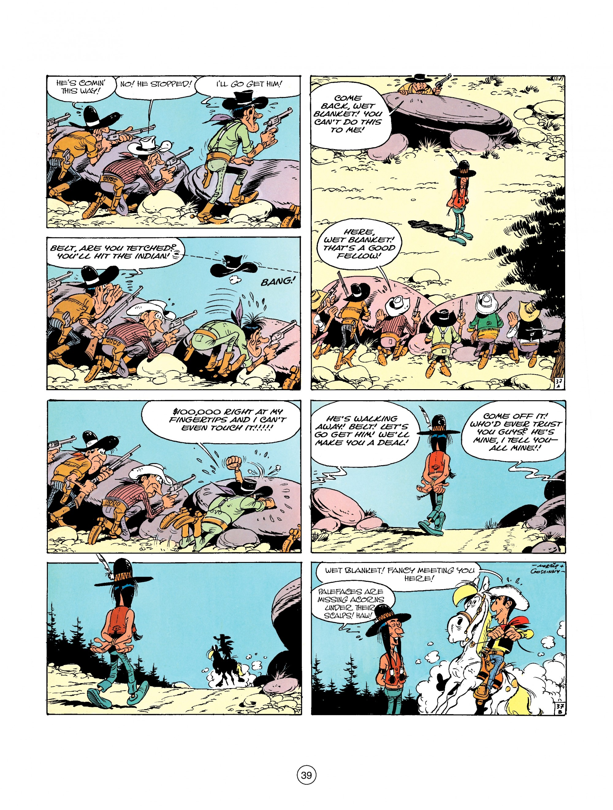 Read online A Lucky Luke Adventure comic -  Issue #26 - 39