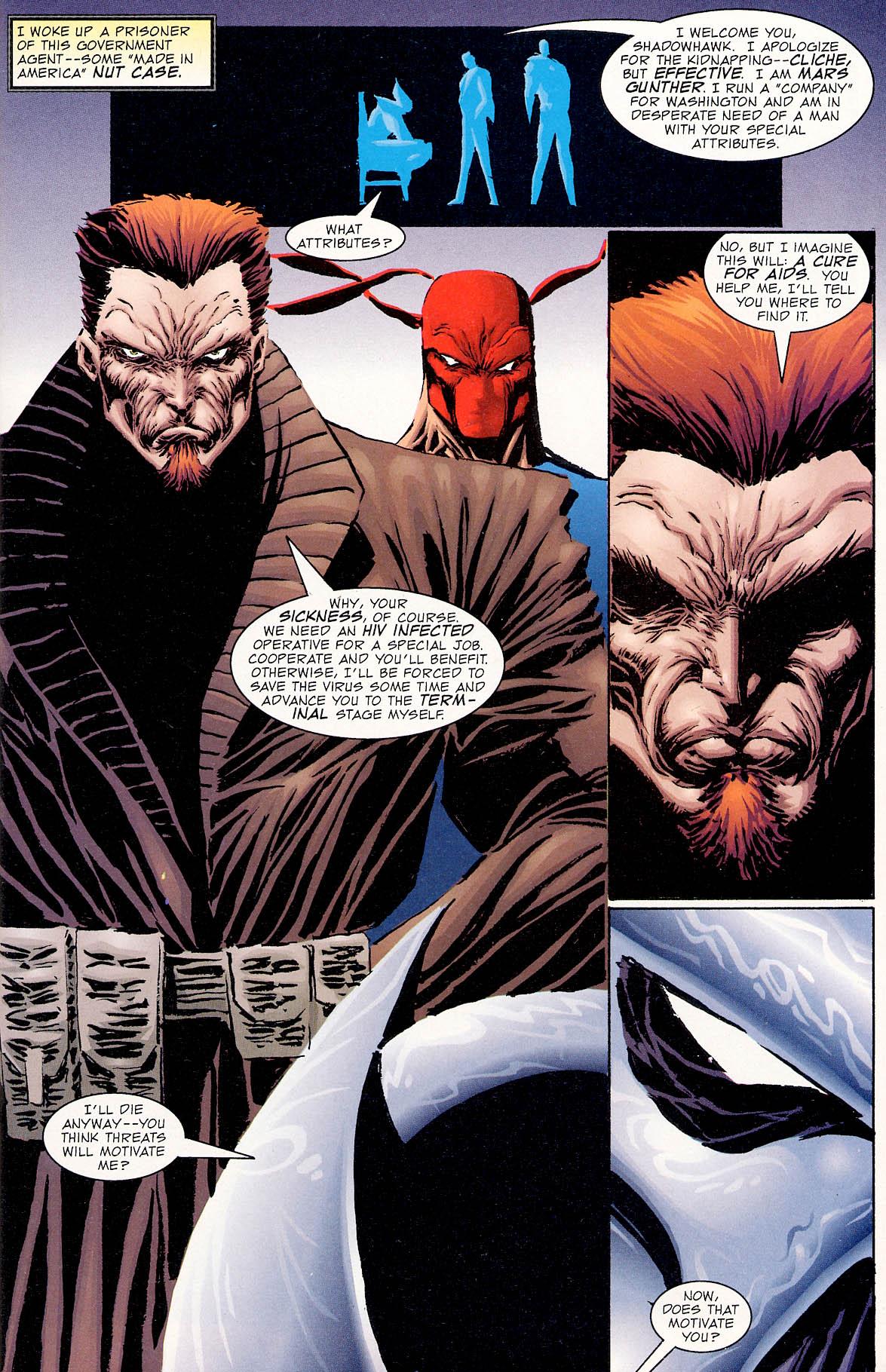 Read online ShadowHawk comic -  Issue #0 - 6
