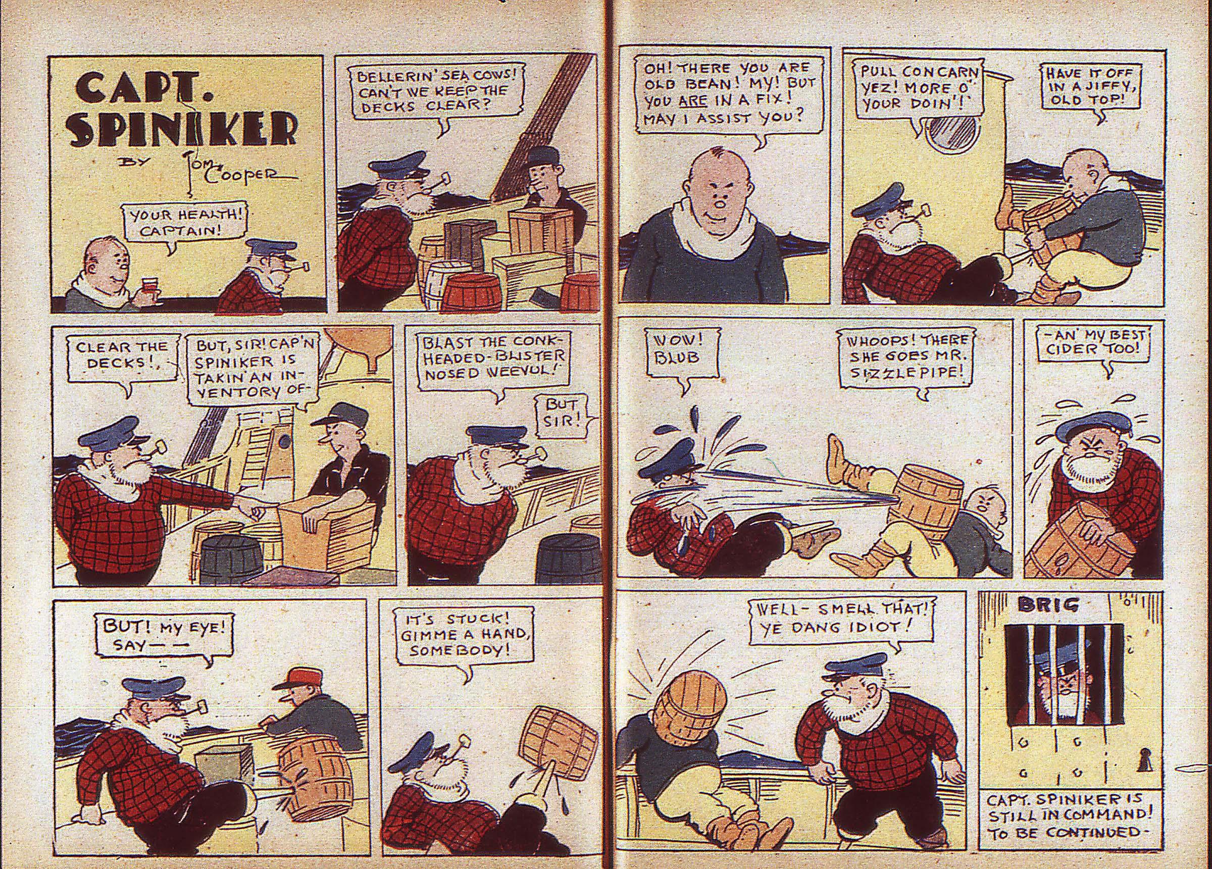 Read online Adventure Comics (1938) comic -  Issue #5 - 38