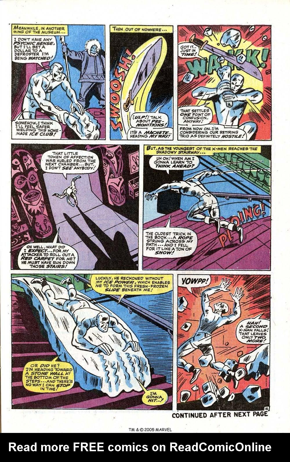 Read online Uncanny X-Men (1963) comic -  Issue #73 - 25