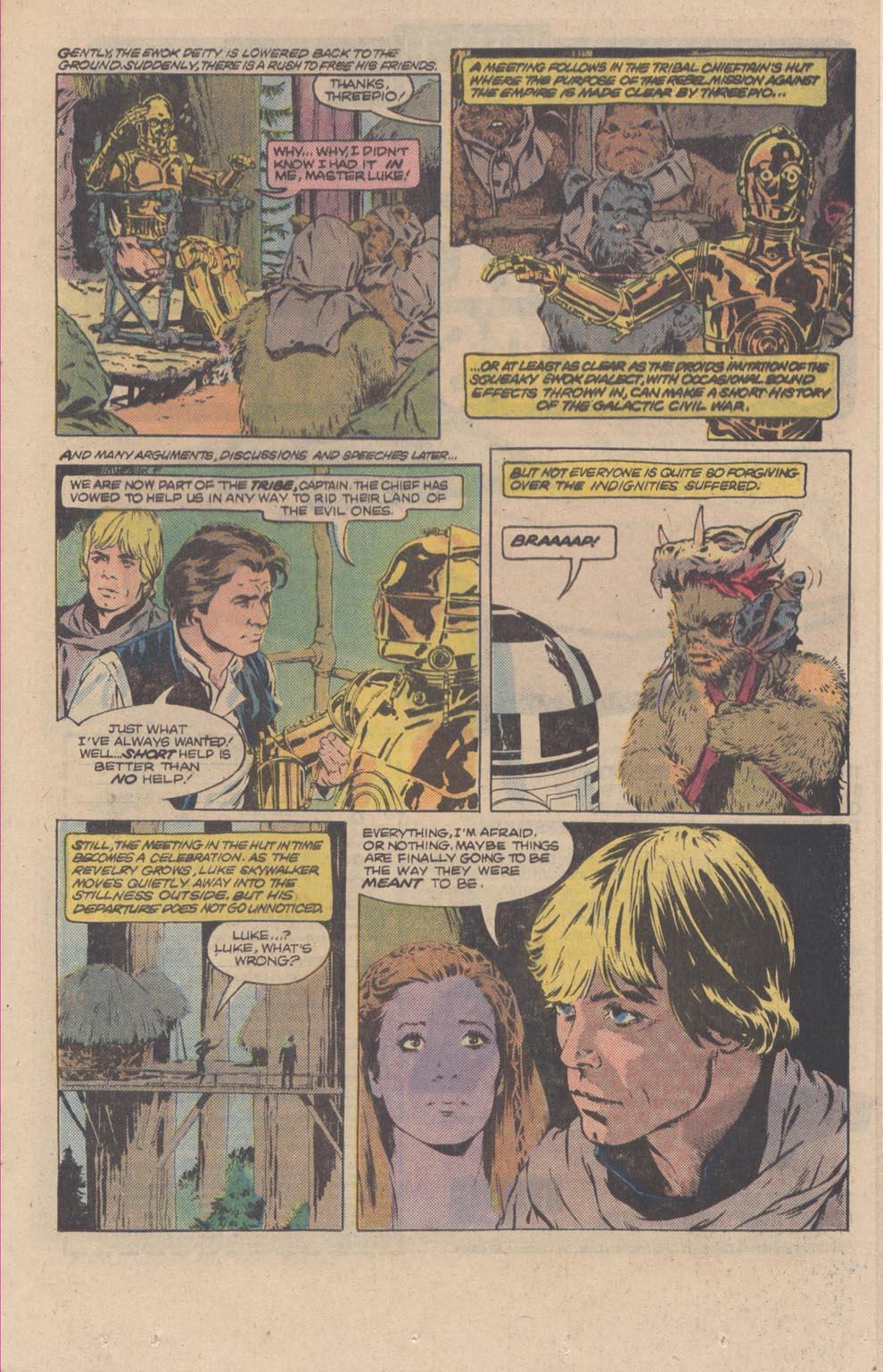 Read online Star Wars: Return of the Jedi comic -  Issue #3 - 17