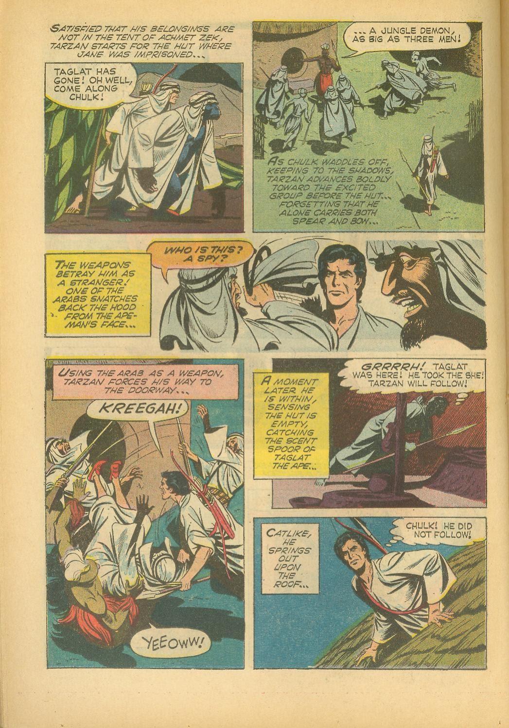 Tarzan (1962) issue 160 - Page 22