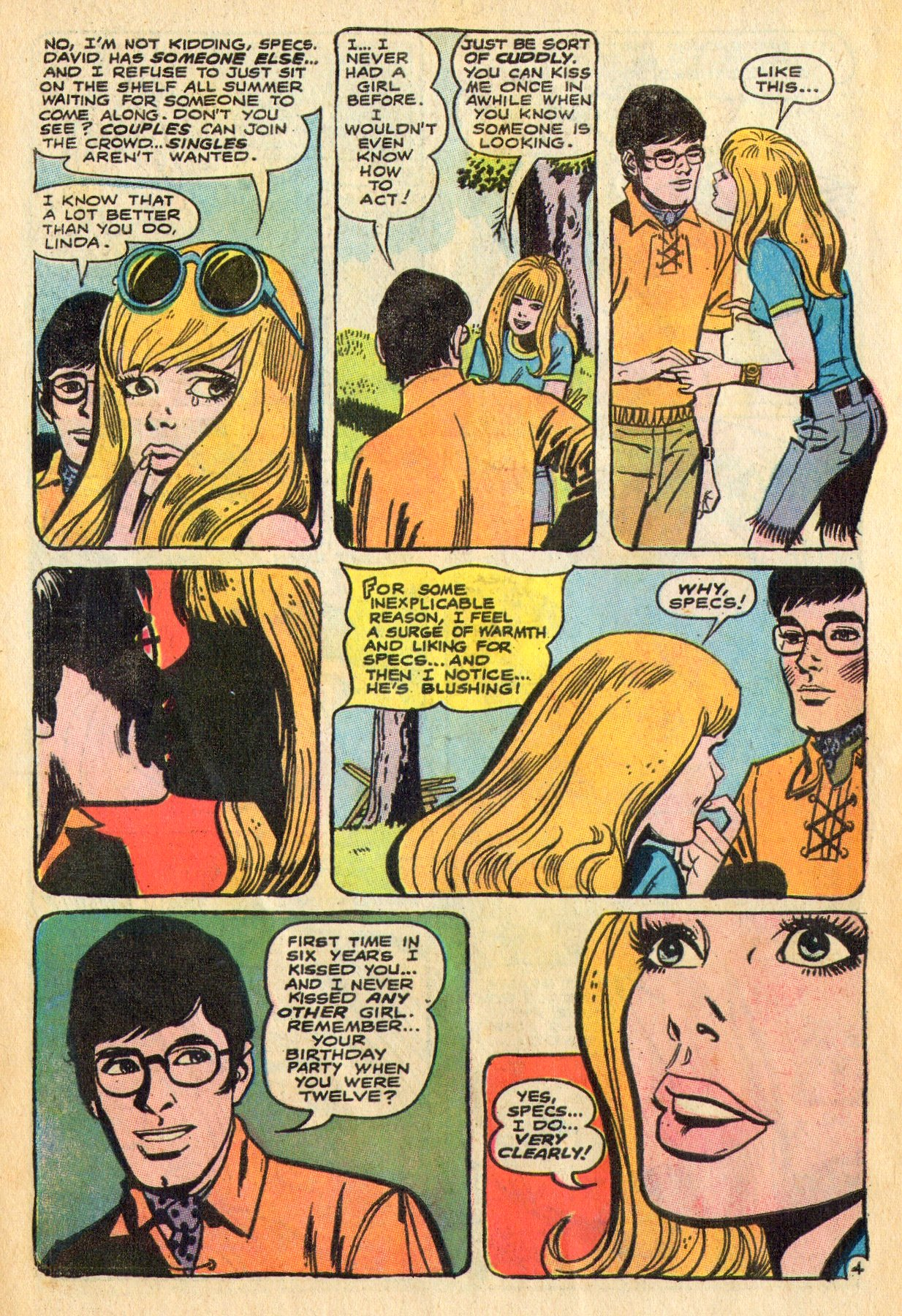 Read online Secret Hearts comic -  Issue #136 - 6