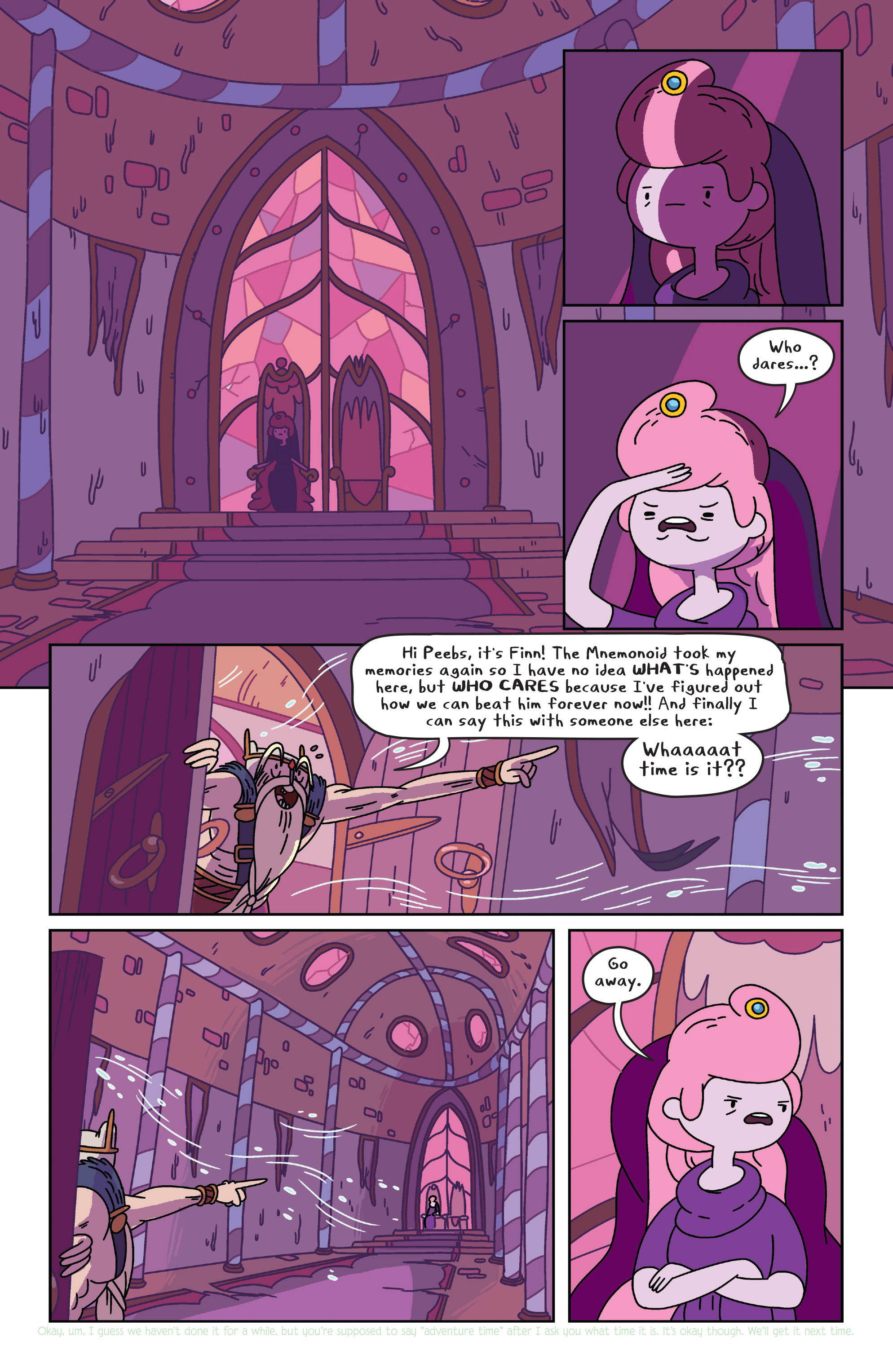 Read online Adventure Time comic -  Issue #34 - 5