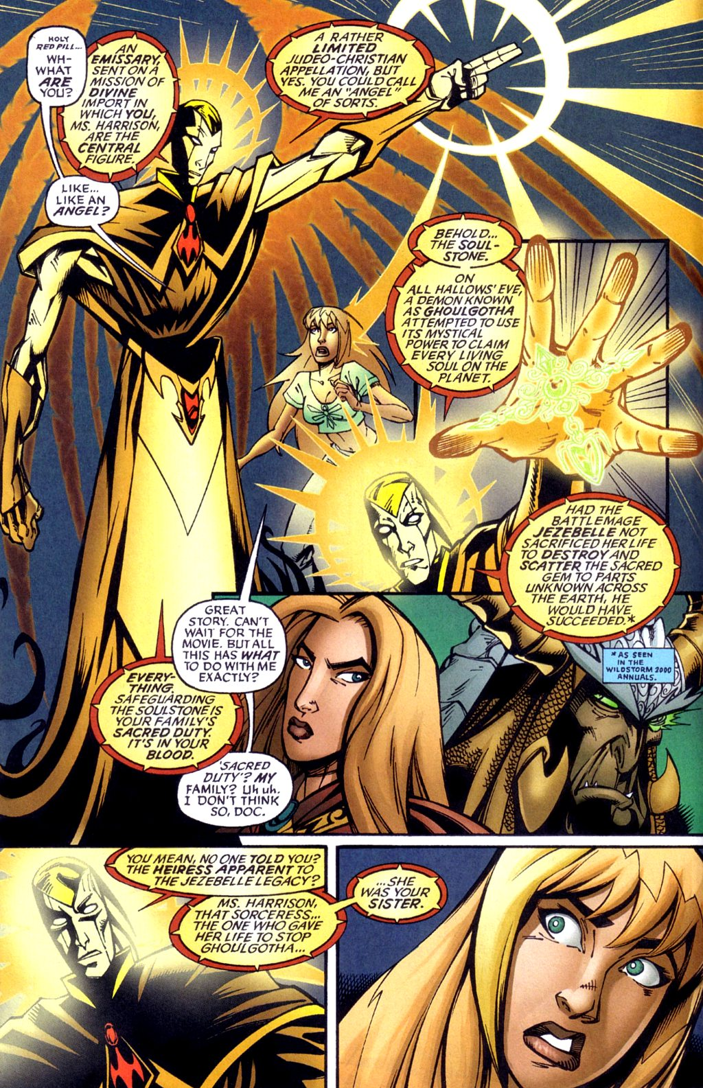 Read online Jezebelle comic -  Issue #1 - 9
