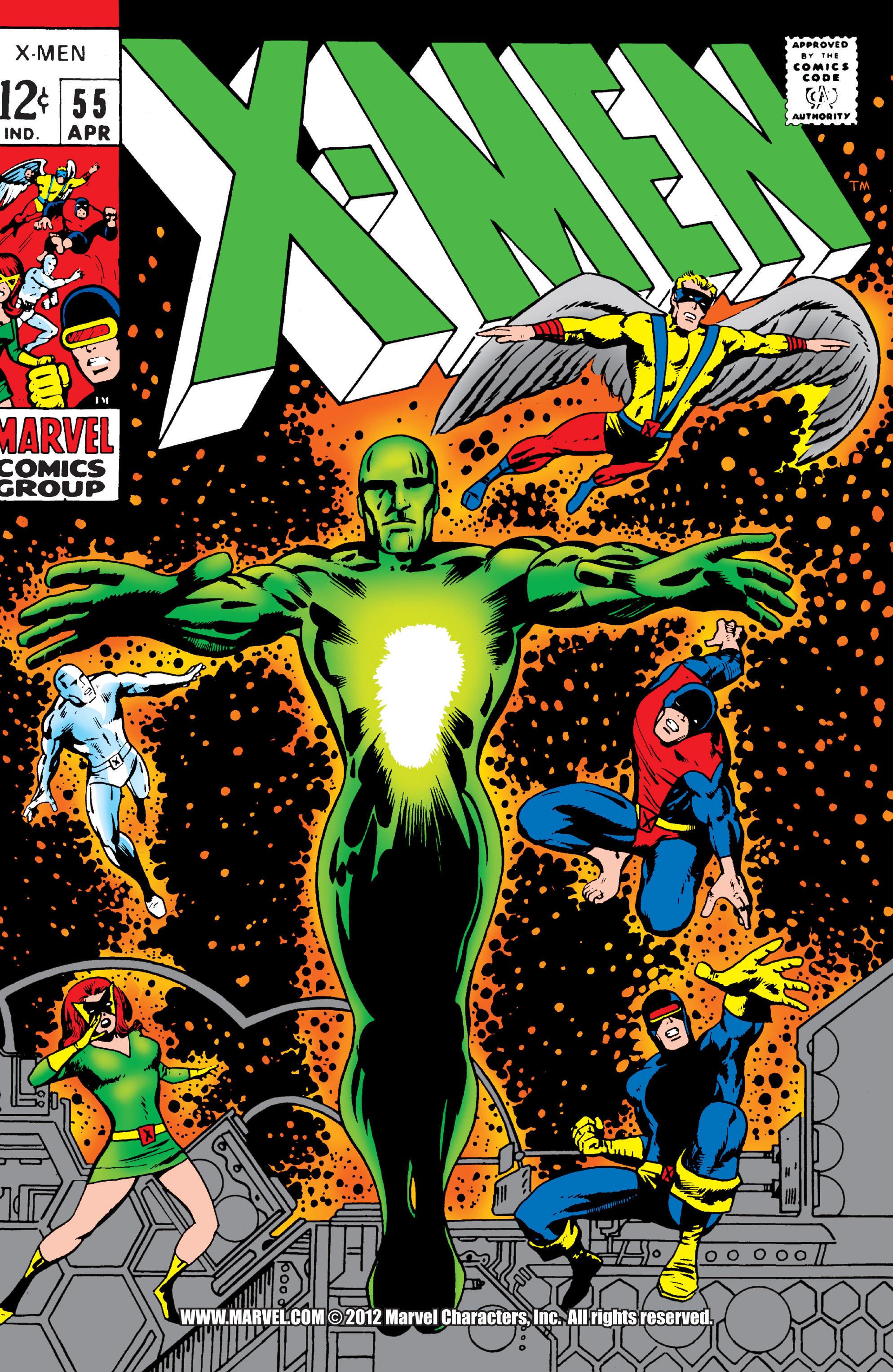 Uncanny X-Men (1963) 55 Page 0