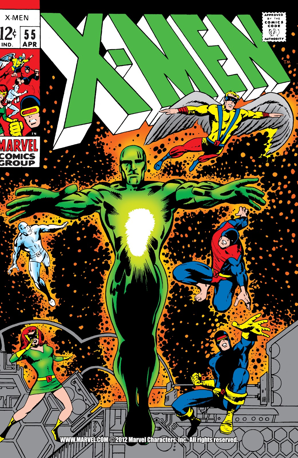 Uncanny X-Men (1963) 55 Page 1