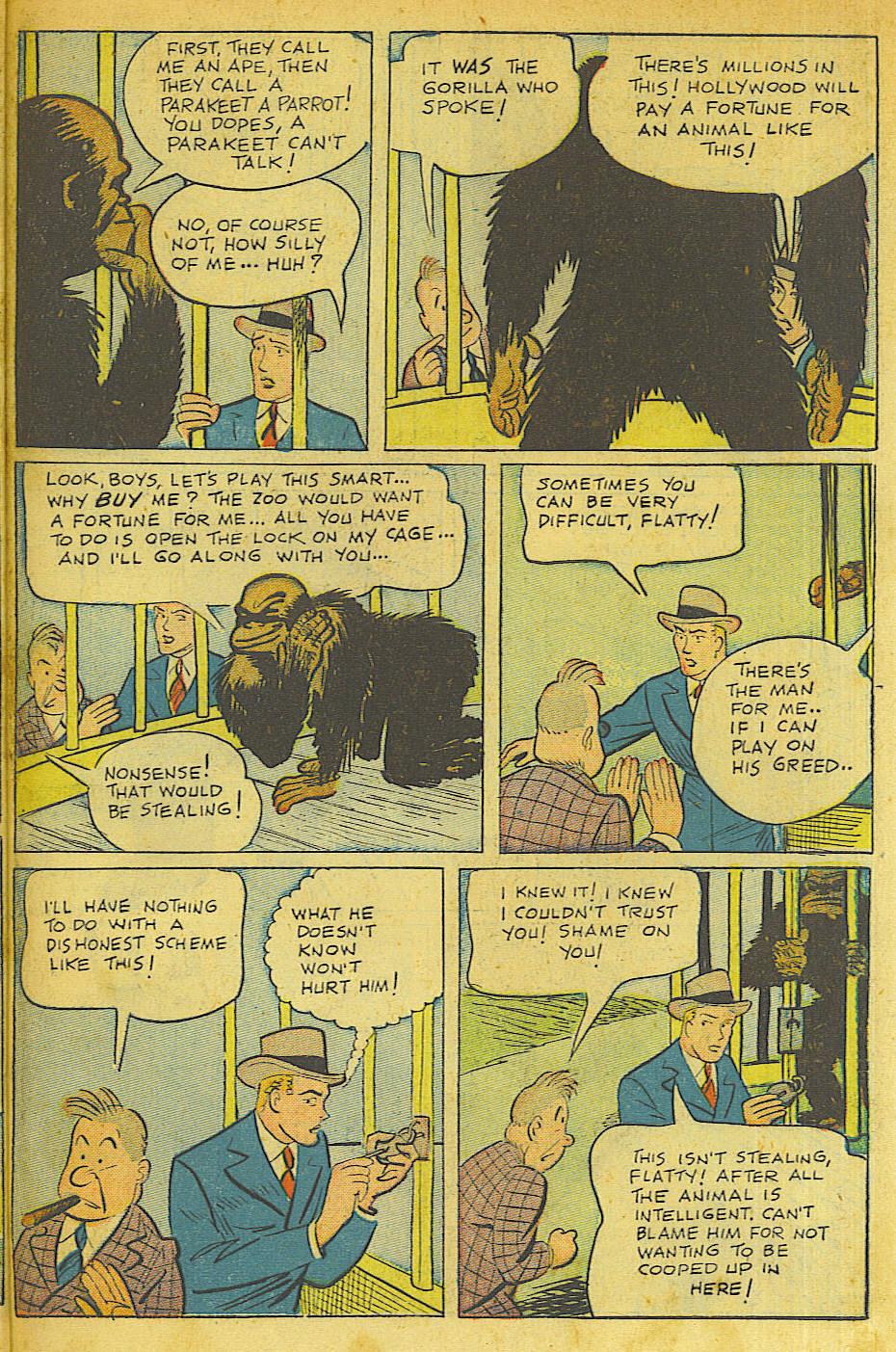 Read online Shadow Comics comic -  Issue #63 - 37