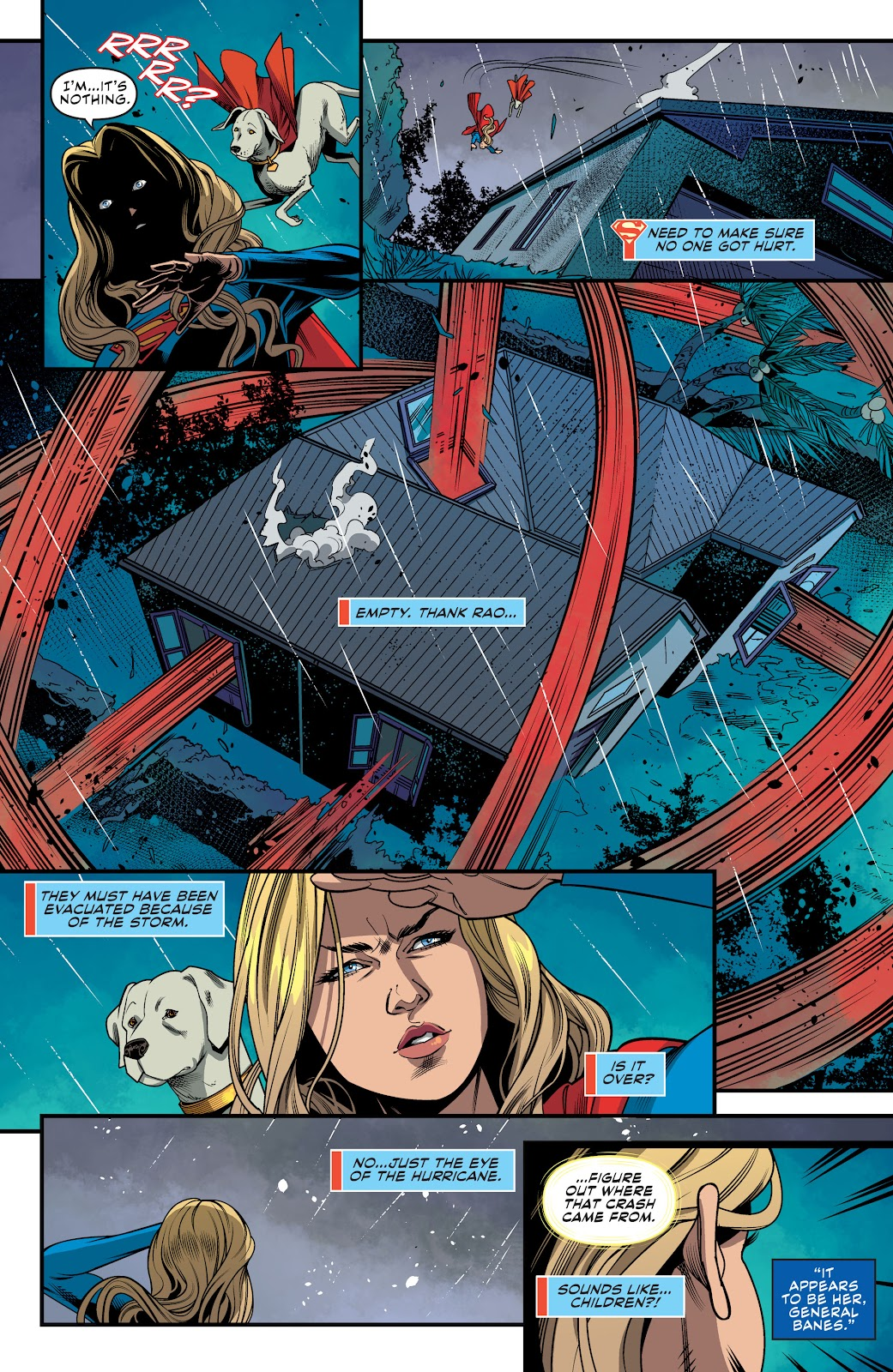 Read online Supergirl (2016) comic -  Issue #41 - 12