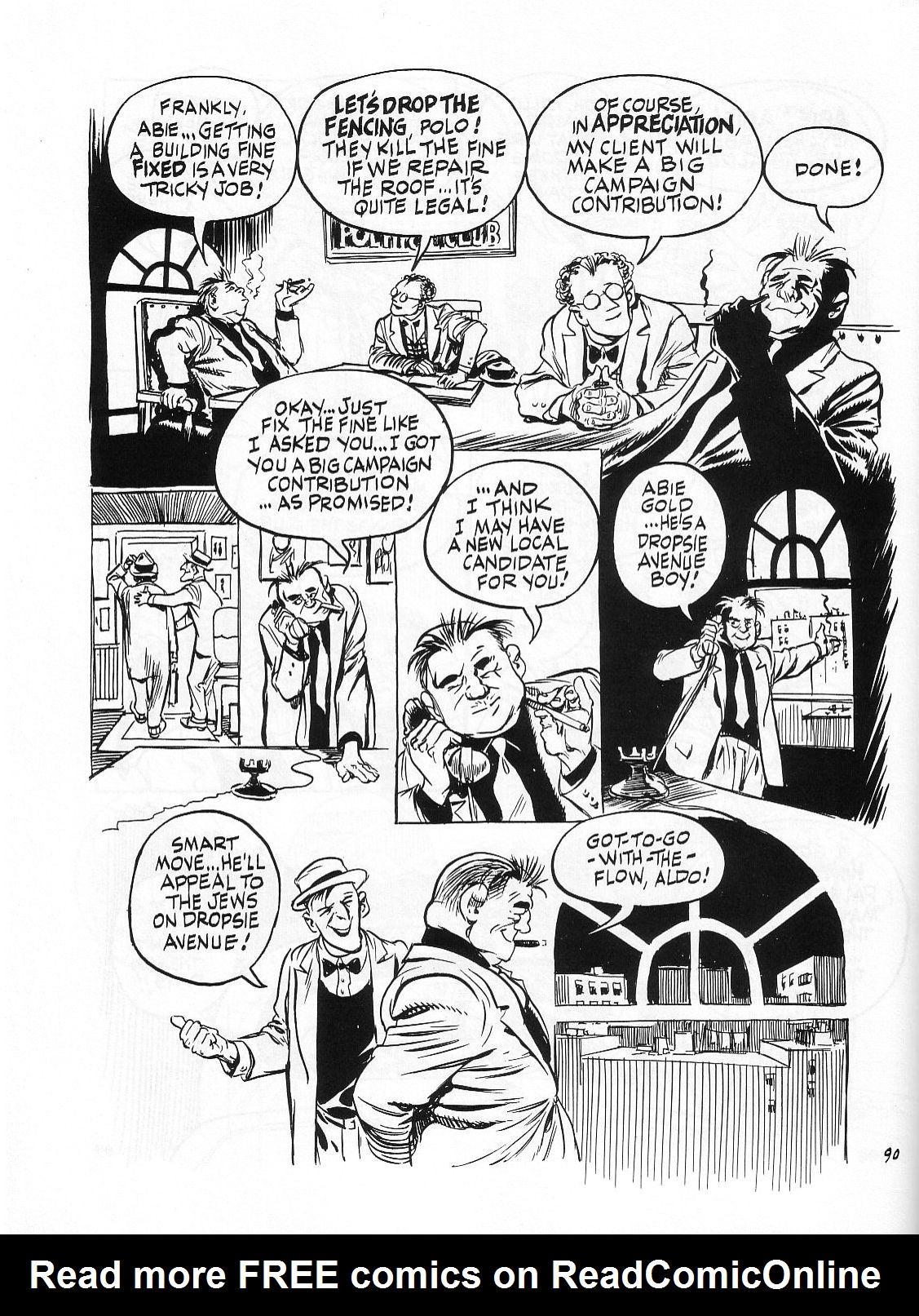 Read online Dropsie Avenue, The Neighborhood comic -  Issue # Full - 92