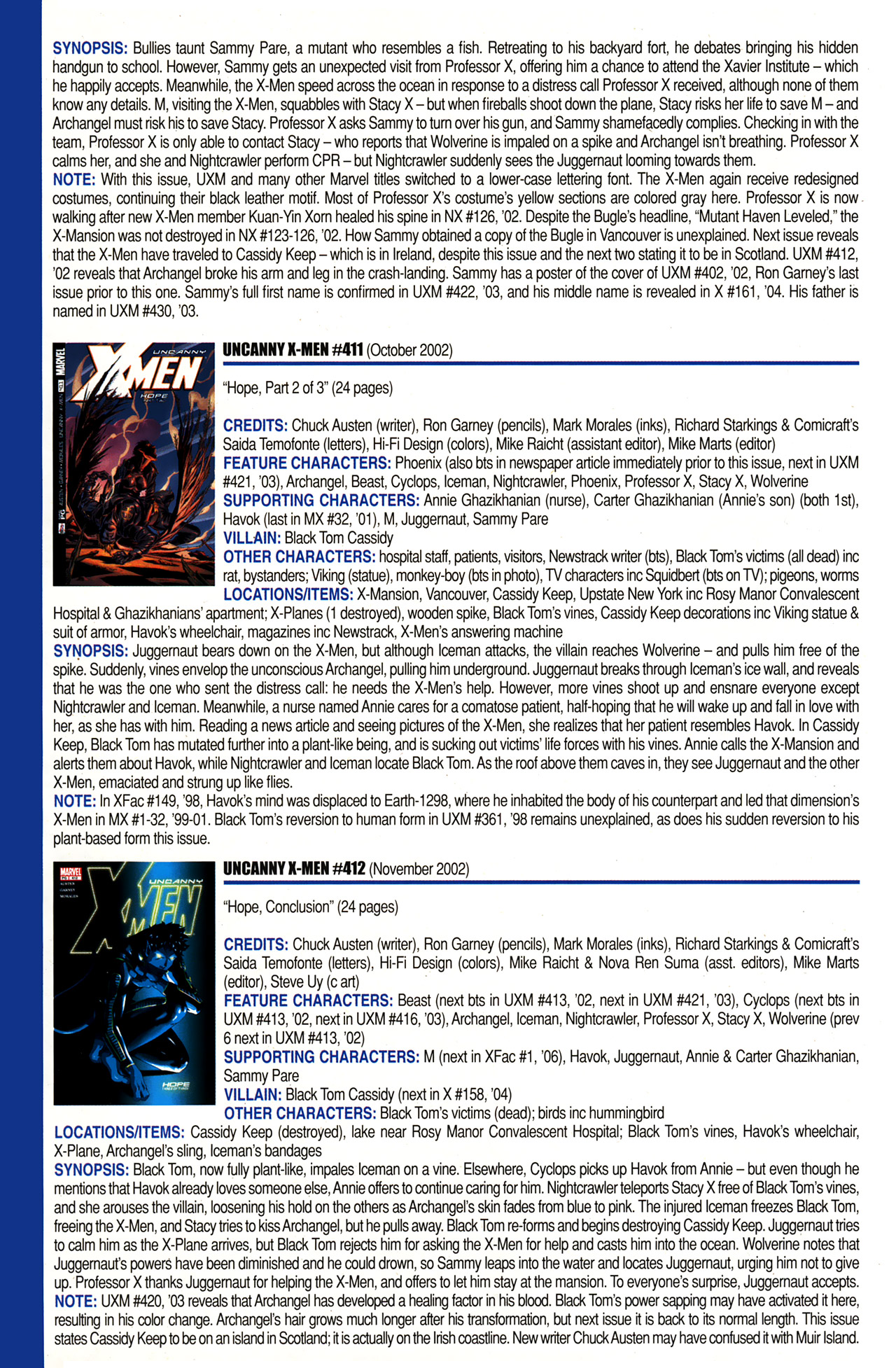 Read online Official Index to the Marvel Universe comic -  Issue #10 - 66