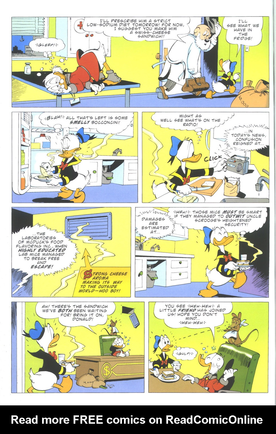 Read online Uncle Scrooge (1953) comic -  Issue #335 - 60