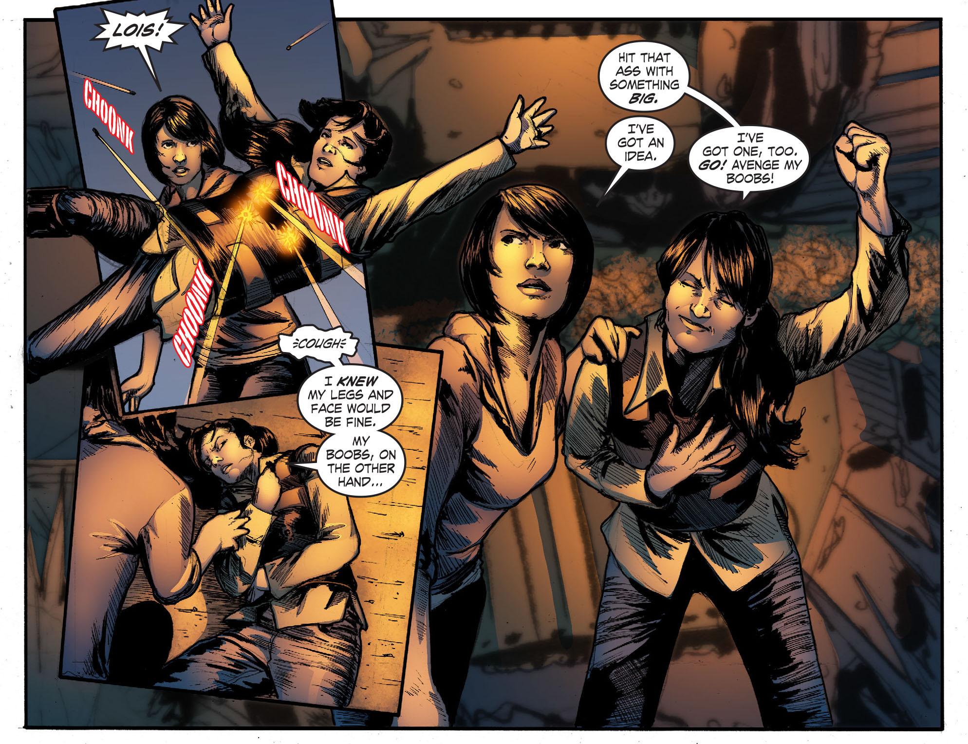 Read online Smallville: Season 11 comic -  Issue #50 - 12