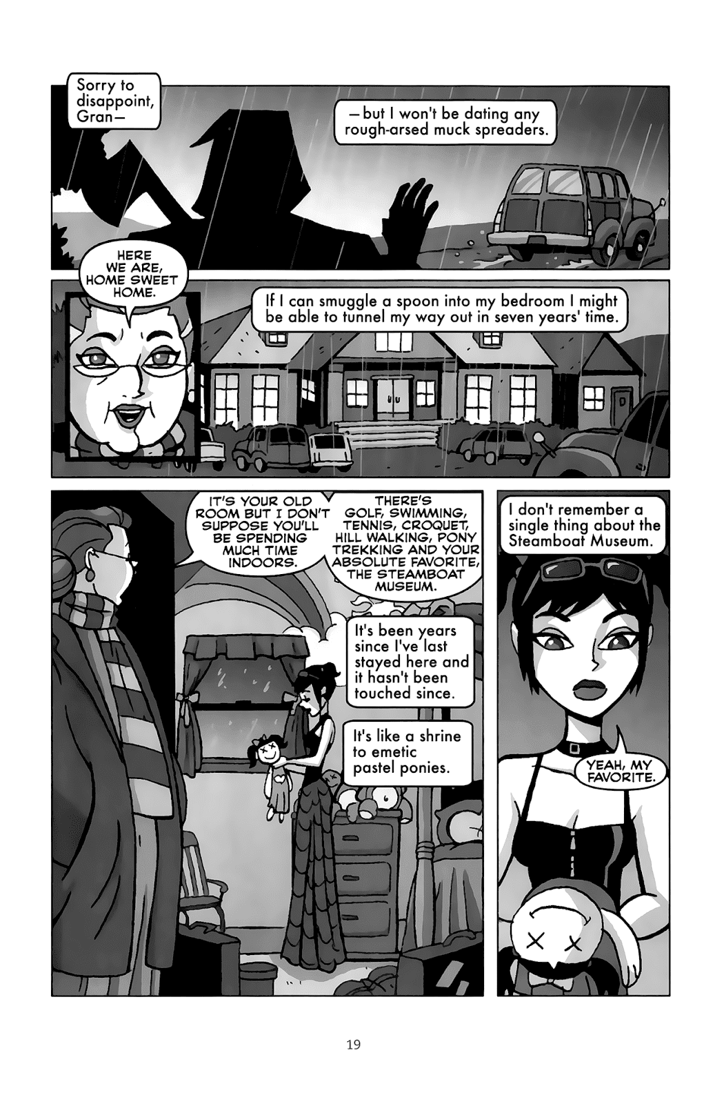Read online Clubbing comic -  Issue # TPB - 19