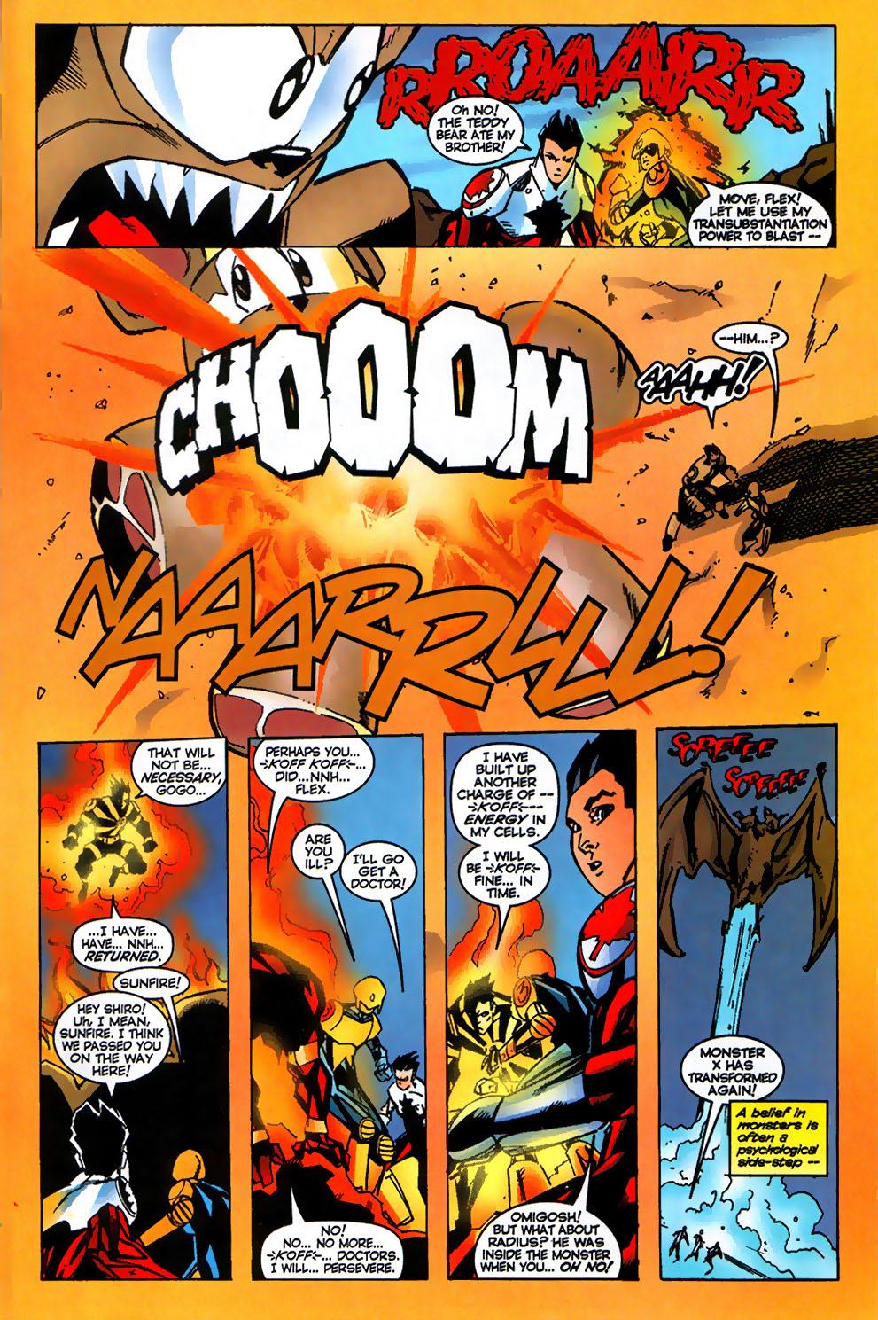 Read online Alpha Flight (1997) comic -  Issue #17 - 19