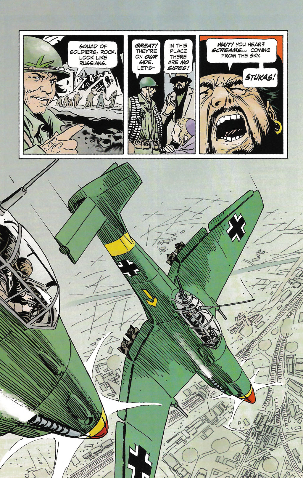 Read online Sgt. Rock: The Prophecy comic -  Issue #2 - 7