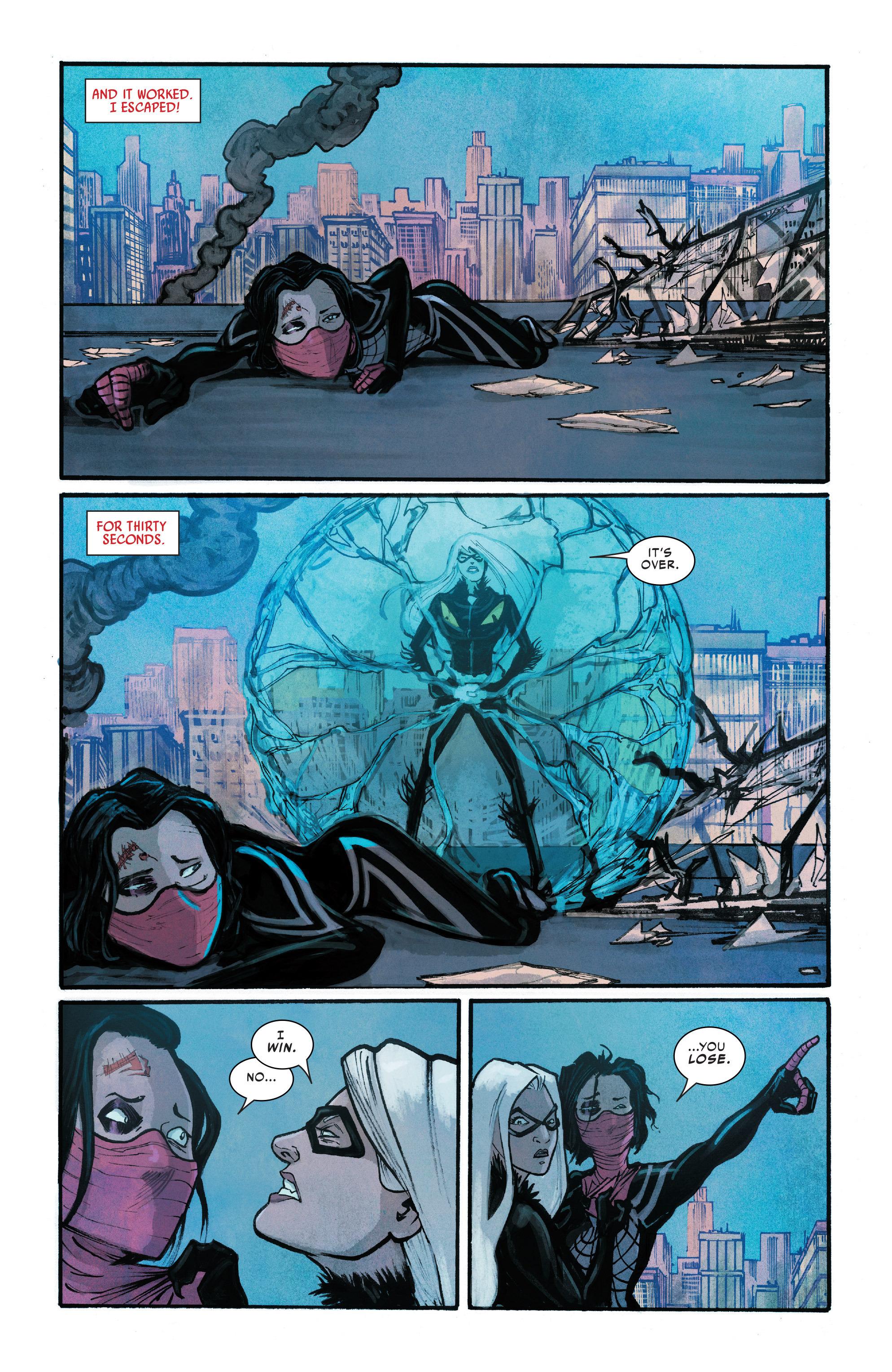Read online Silk (2016) comic -  Issue #10 - 16