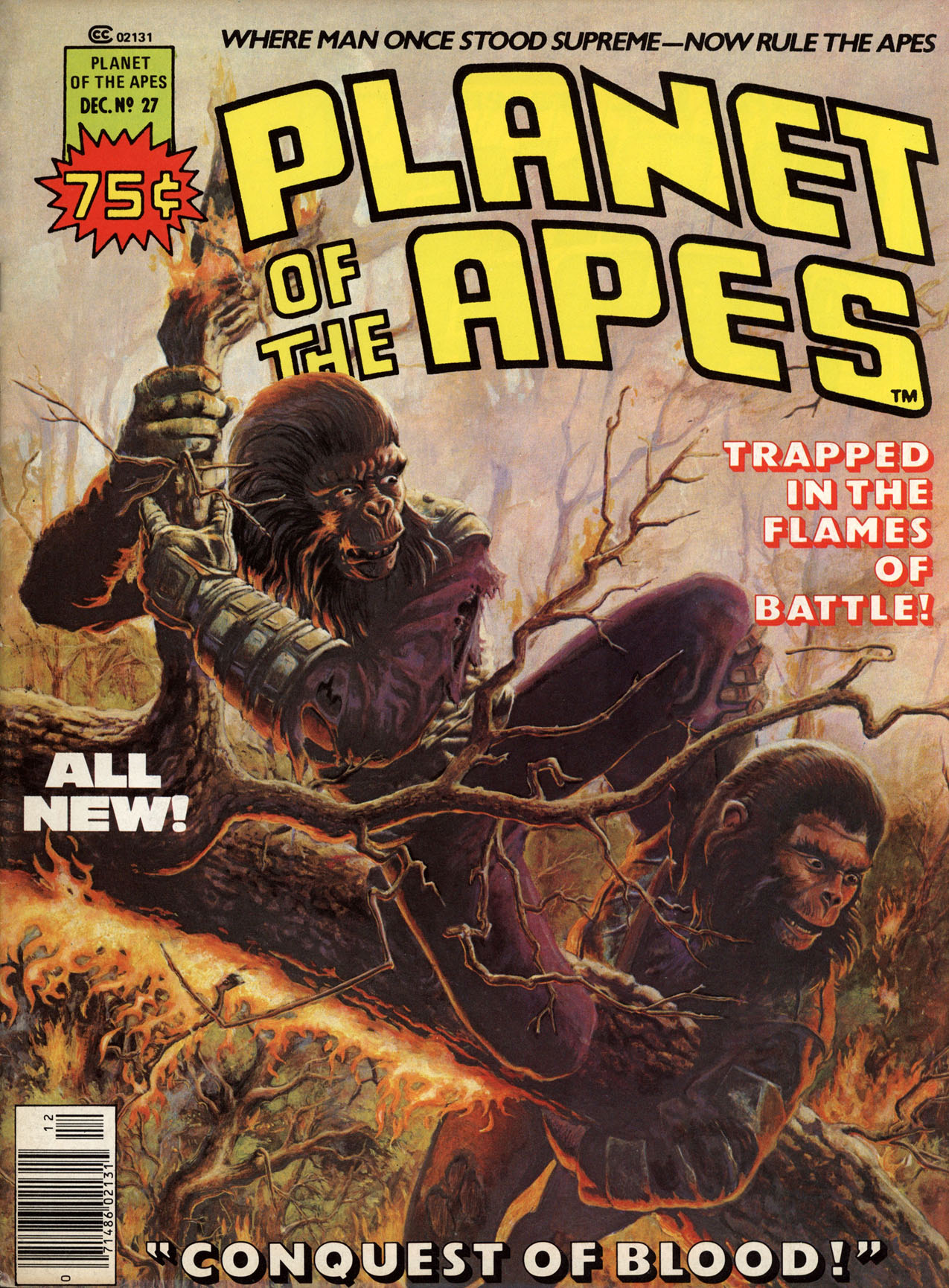 Planet of the Apes (1974) 27 Page 1