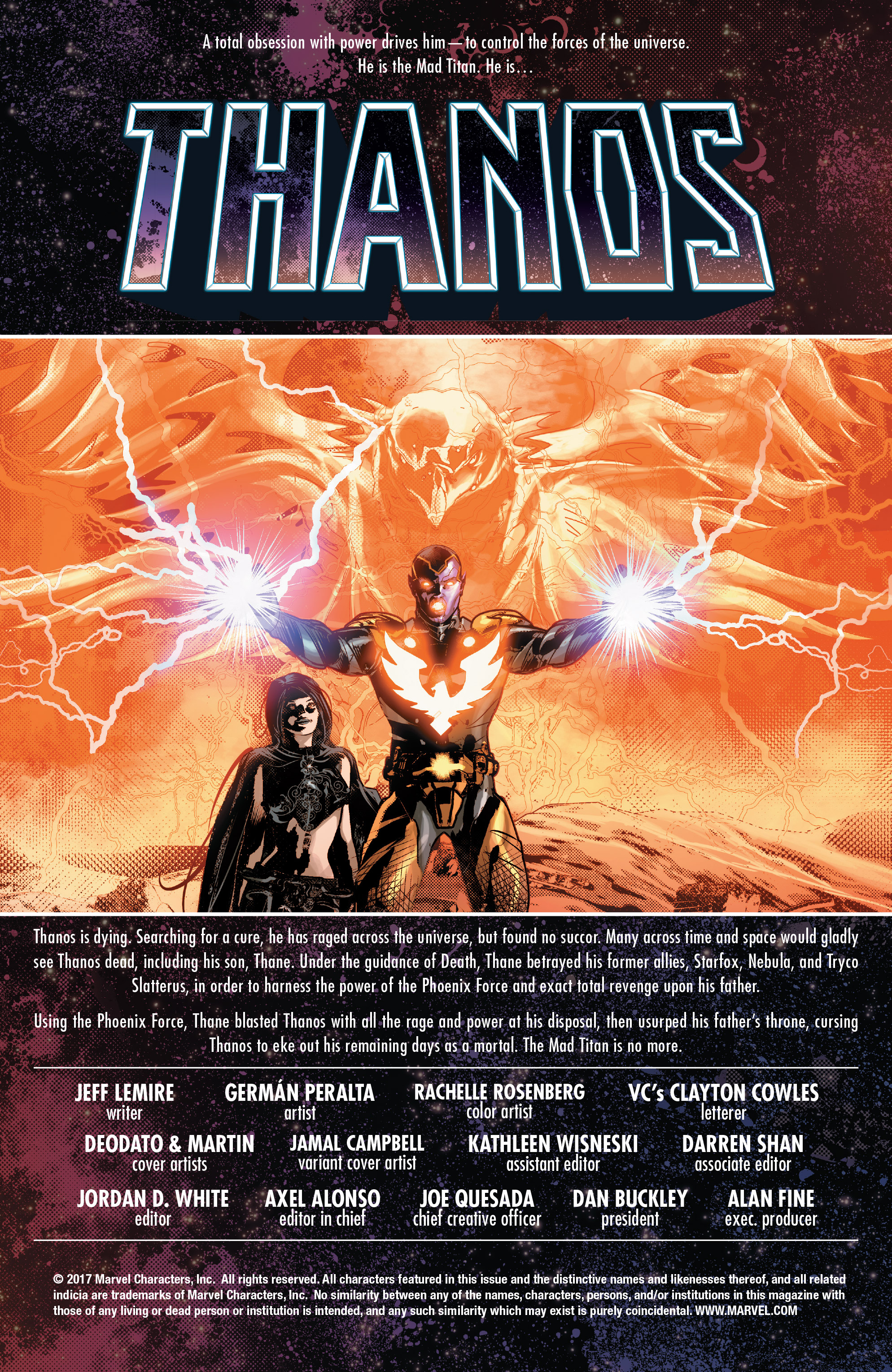 Read online Thanos (2016) comic -  Issue #7 - 2