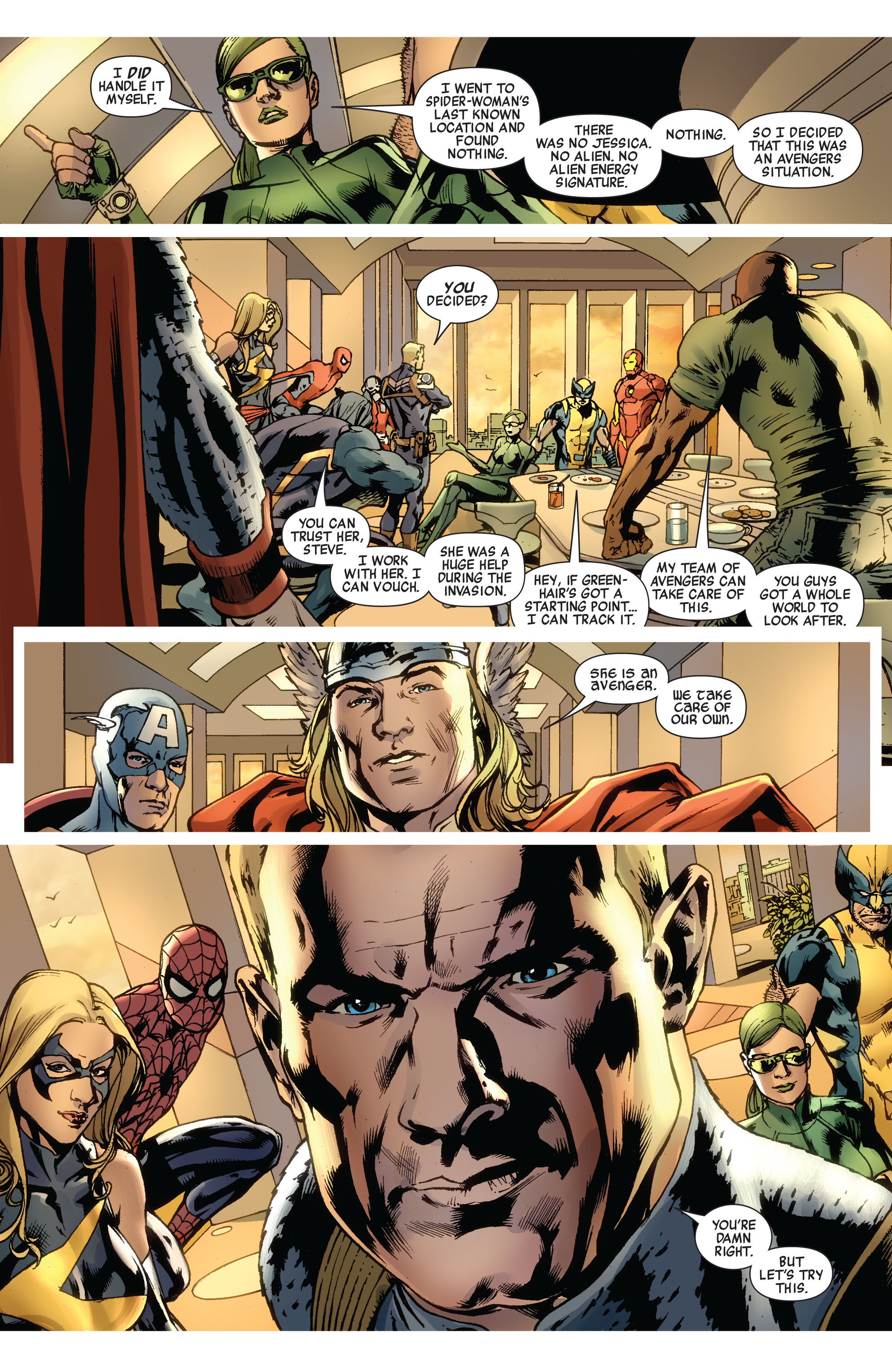 Read online Avengers (2010) comic -  Issue #12.1 - 8