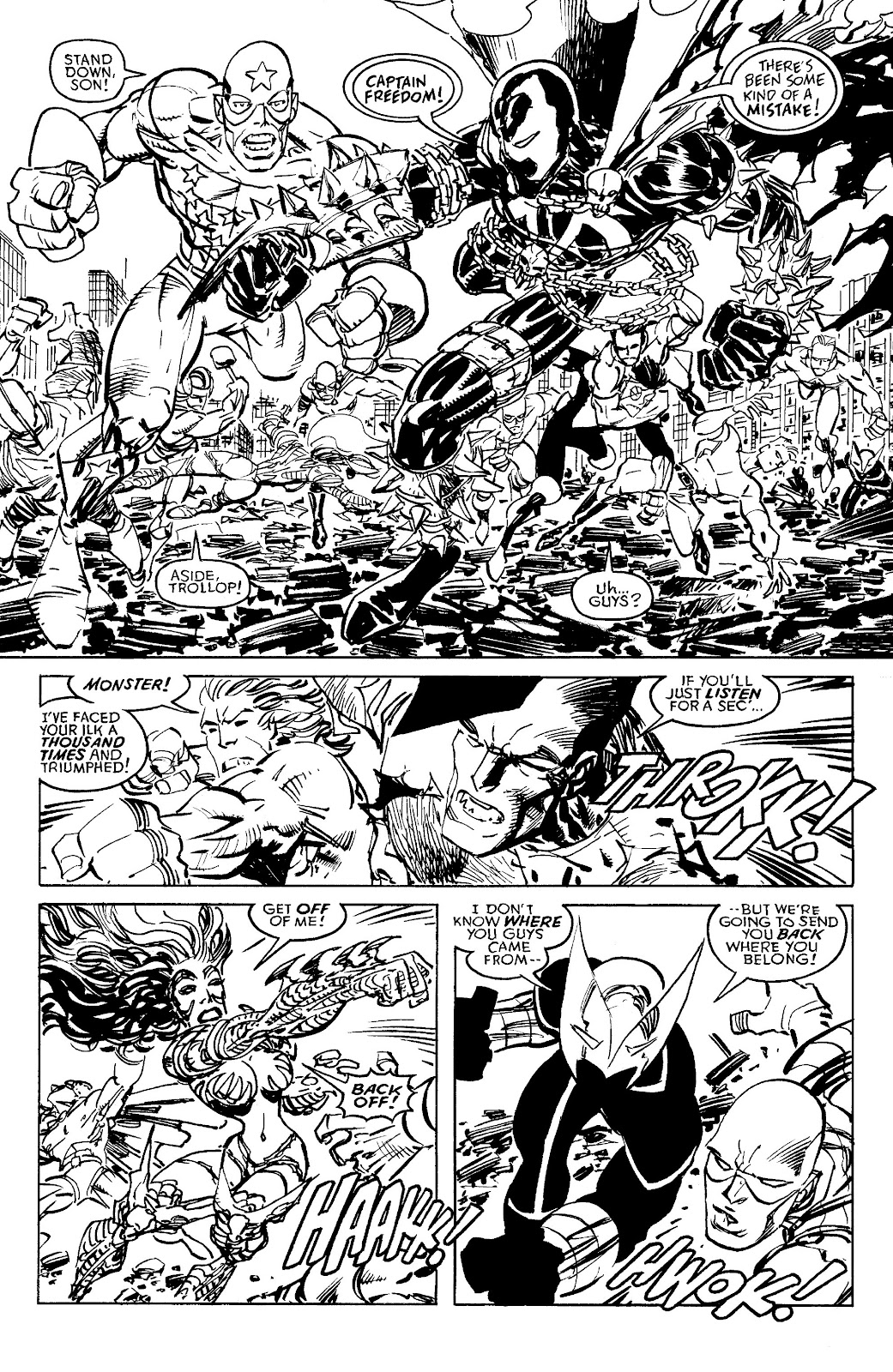 Read online Savage Dragon Archives comic -  Issue # TPB 6 (Part 4) - 12