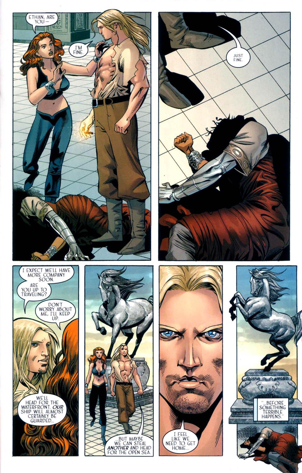 Read online Scion comic -  Issue #33 - 21