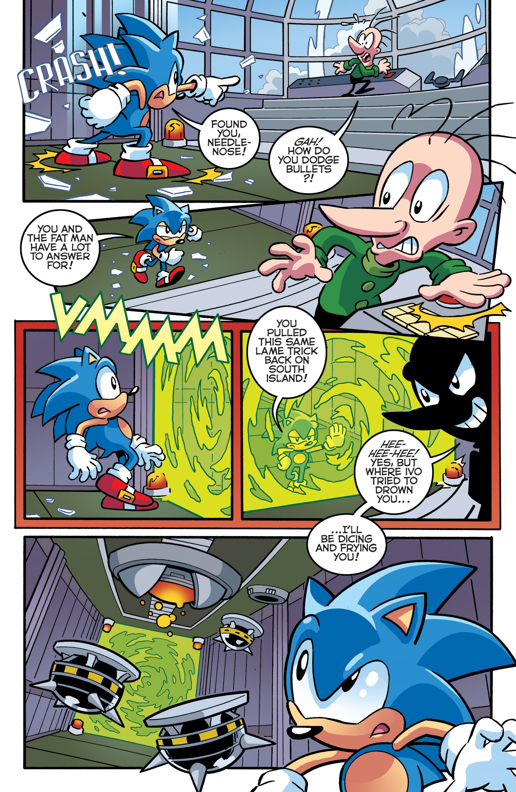 Read online Sonic The Hedgehog comic -  Issue #289 - 9
