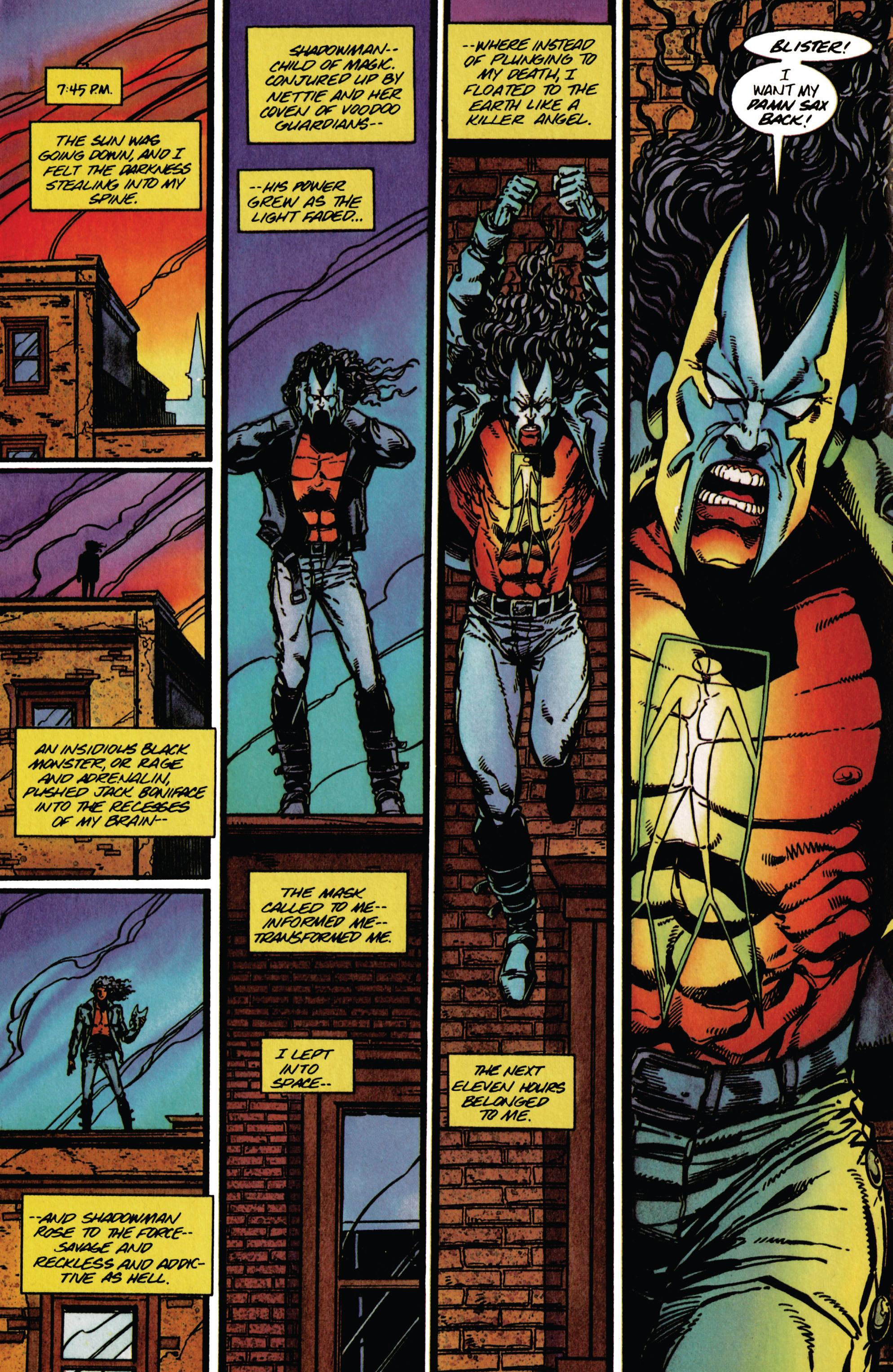 Read online Shadowman (1992) comic -  Issue #38 - 14