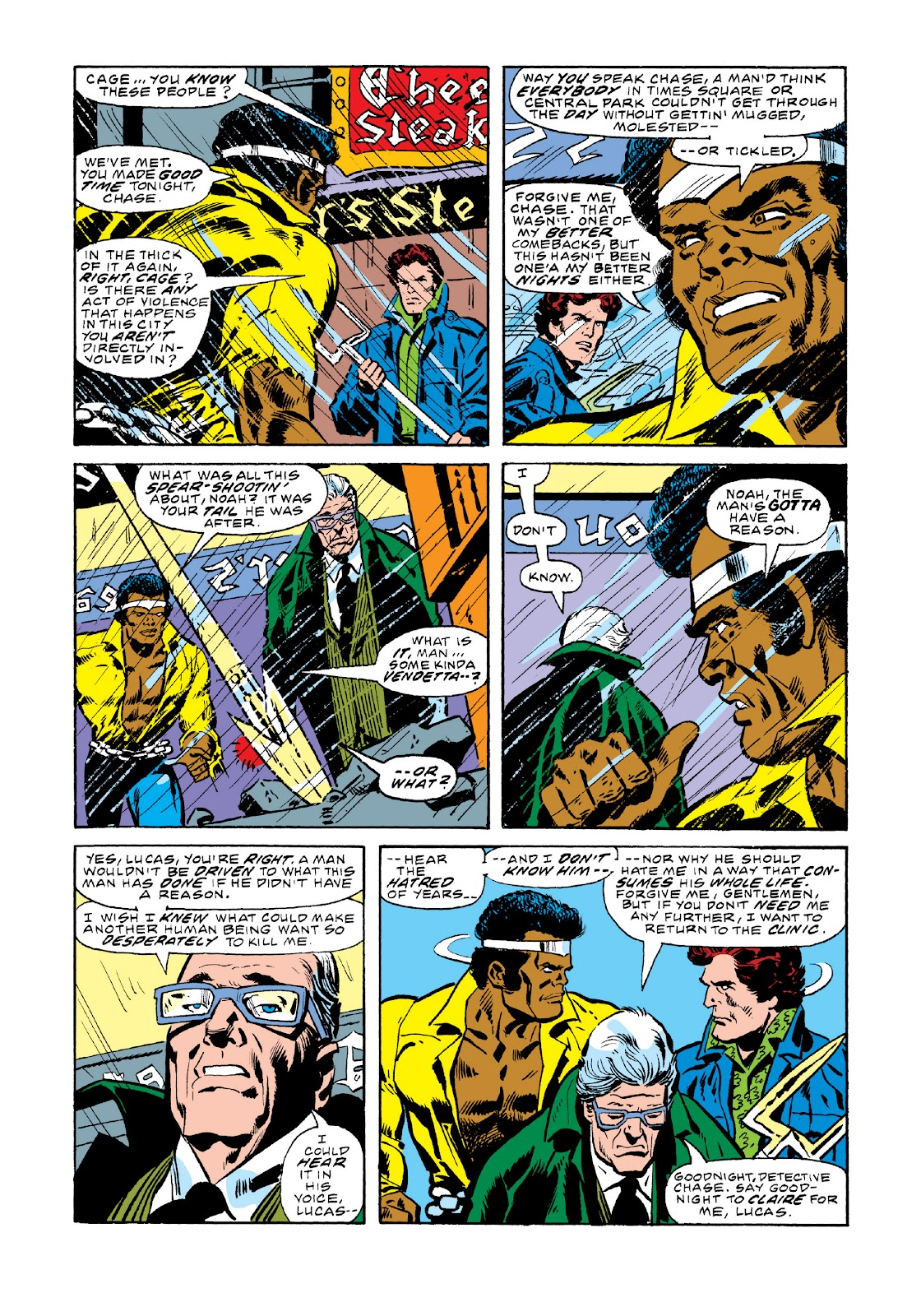 Read online Marvel Masterworks: Luke Cage, Power Man comic -  Issue # TPB 3 (Part 1) - 38