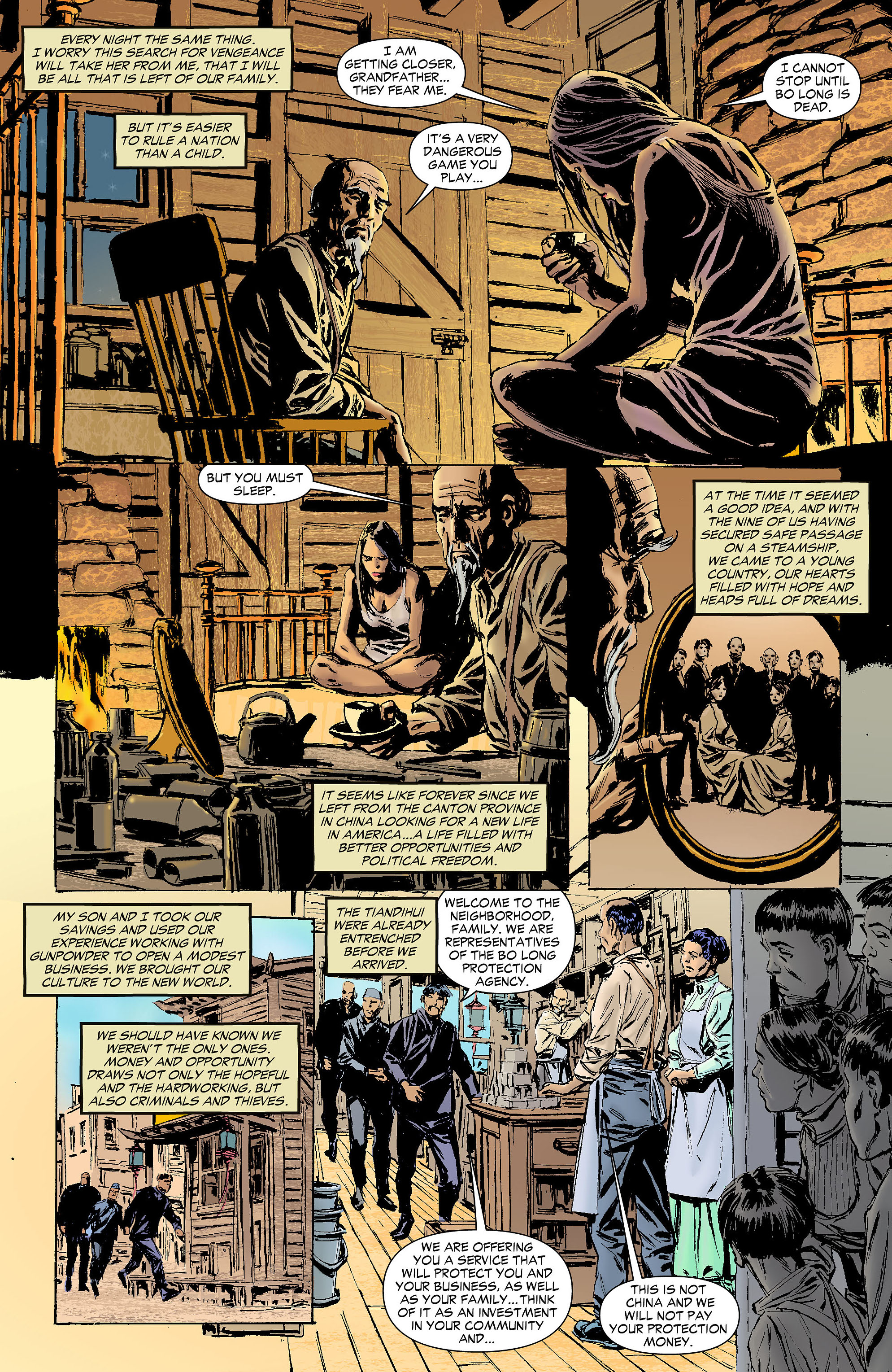 Read online All-Star Western (2011) comic -  Issue #4 - 26