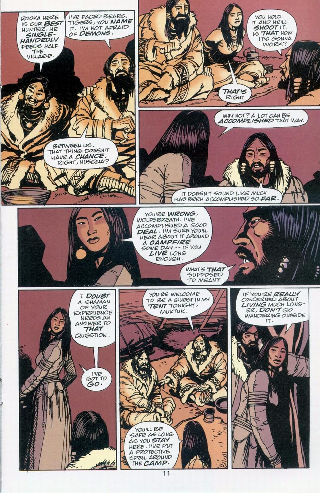 Muktuk Wolfsbreath: Hard-Boiled Shaman issue 1 - Page 11