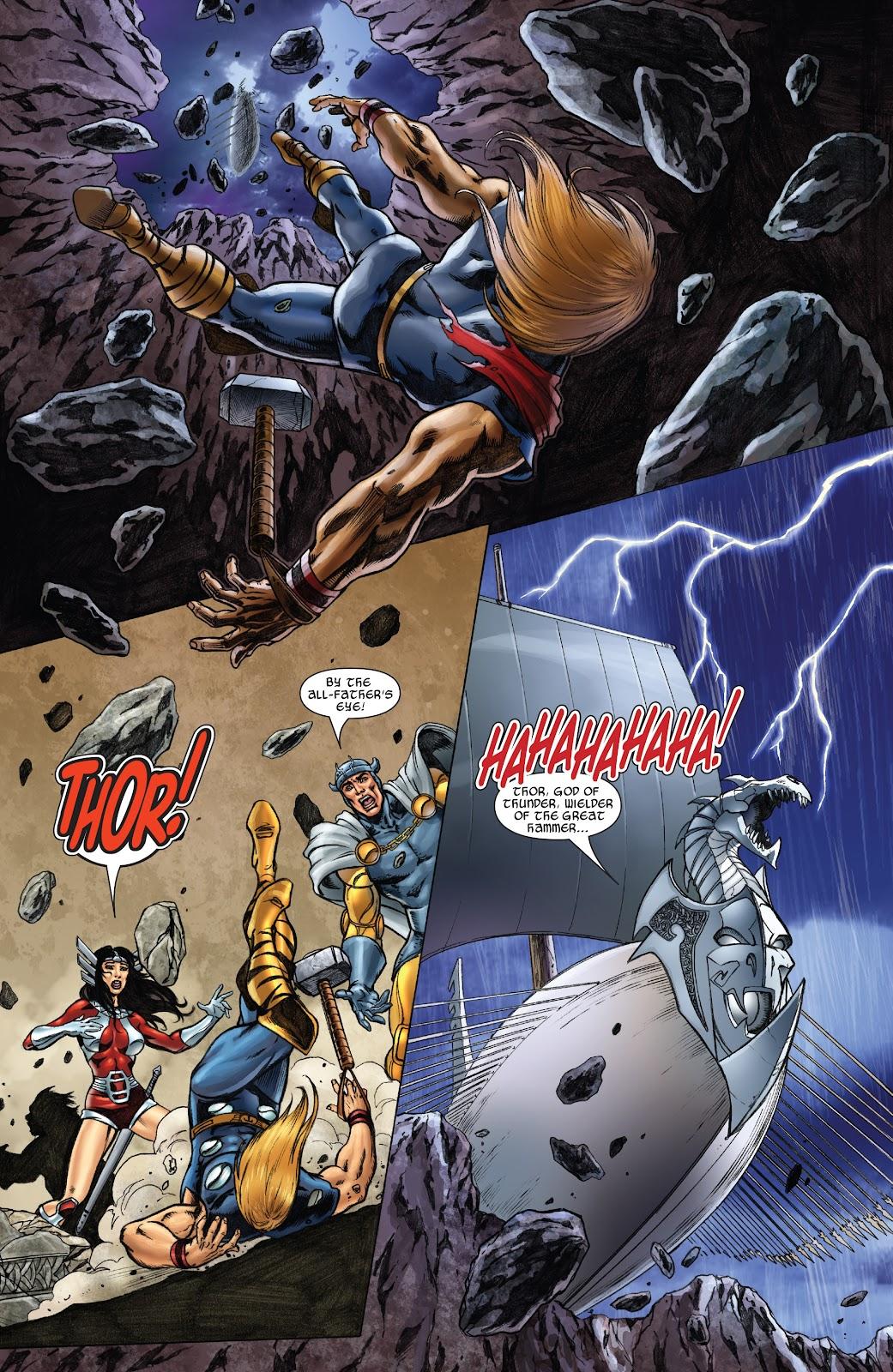 Read online Thor: Ragnaroks comic -  Issue # TPB (Part 2) - 40