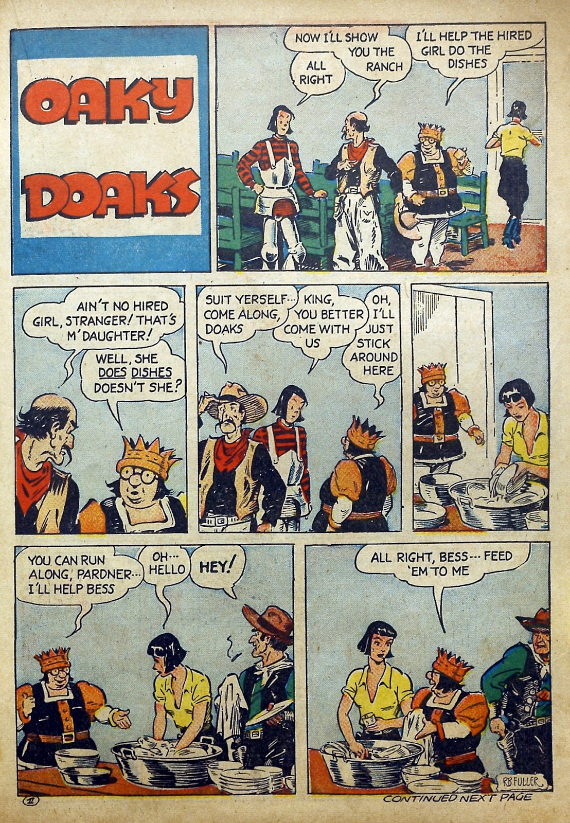 Read online Famous Funnies comic -  Issue #97 - 42