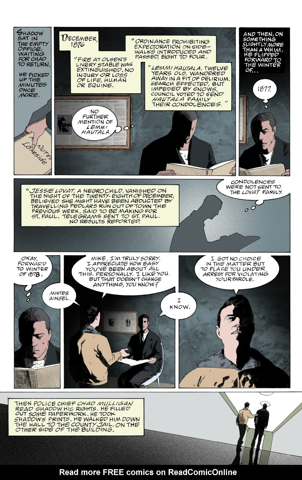 American Gods: My Ainsel issue 9 - Page 6