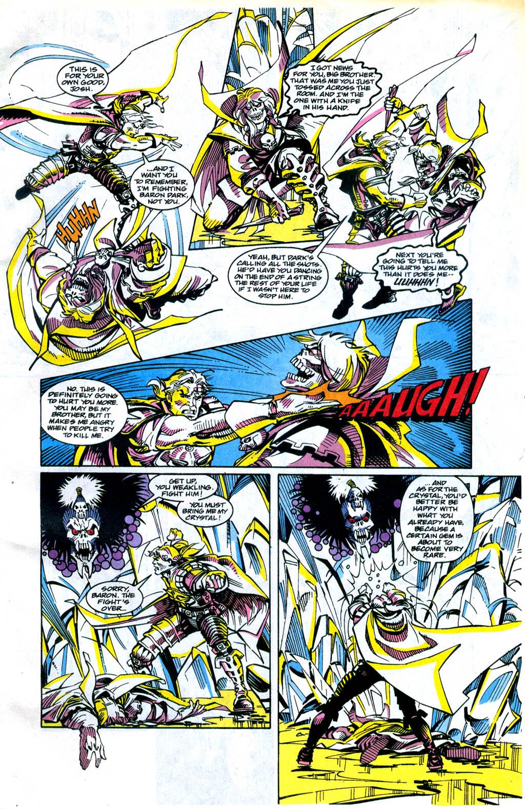 Skeleton Warriors Issue #4 #4 - English 4